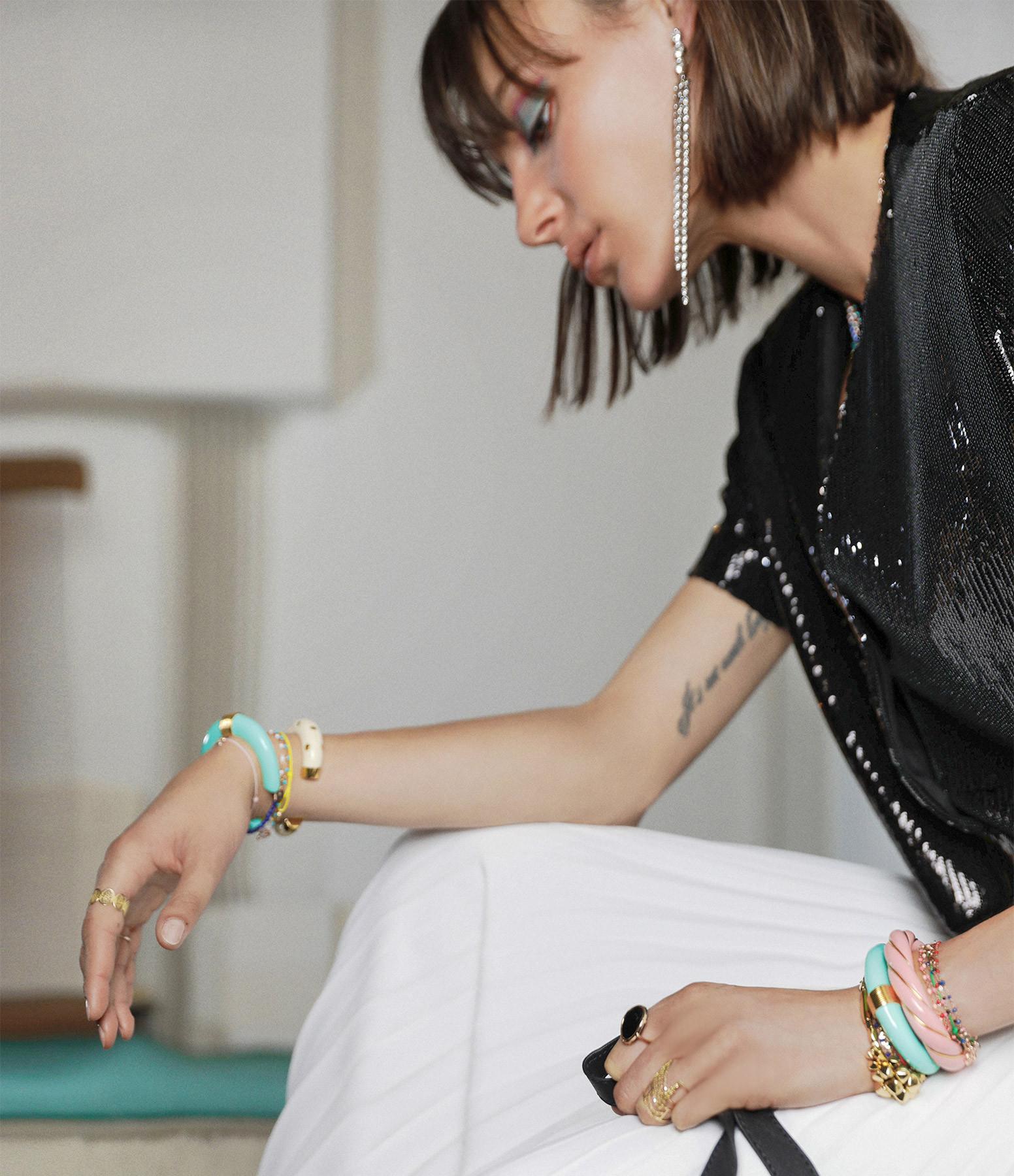 AURELIE BIDERMANN - Bracelet Caftan Moon Clous