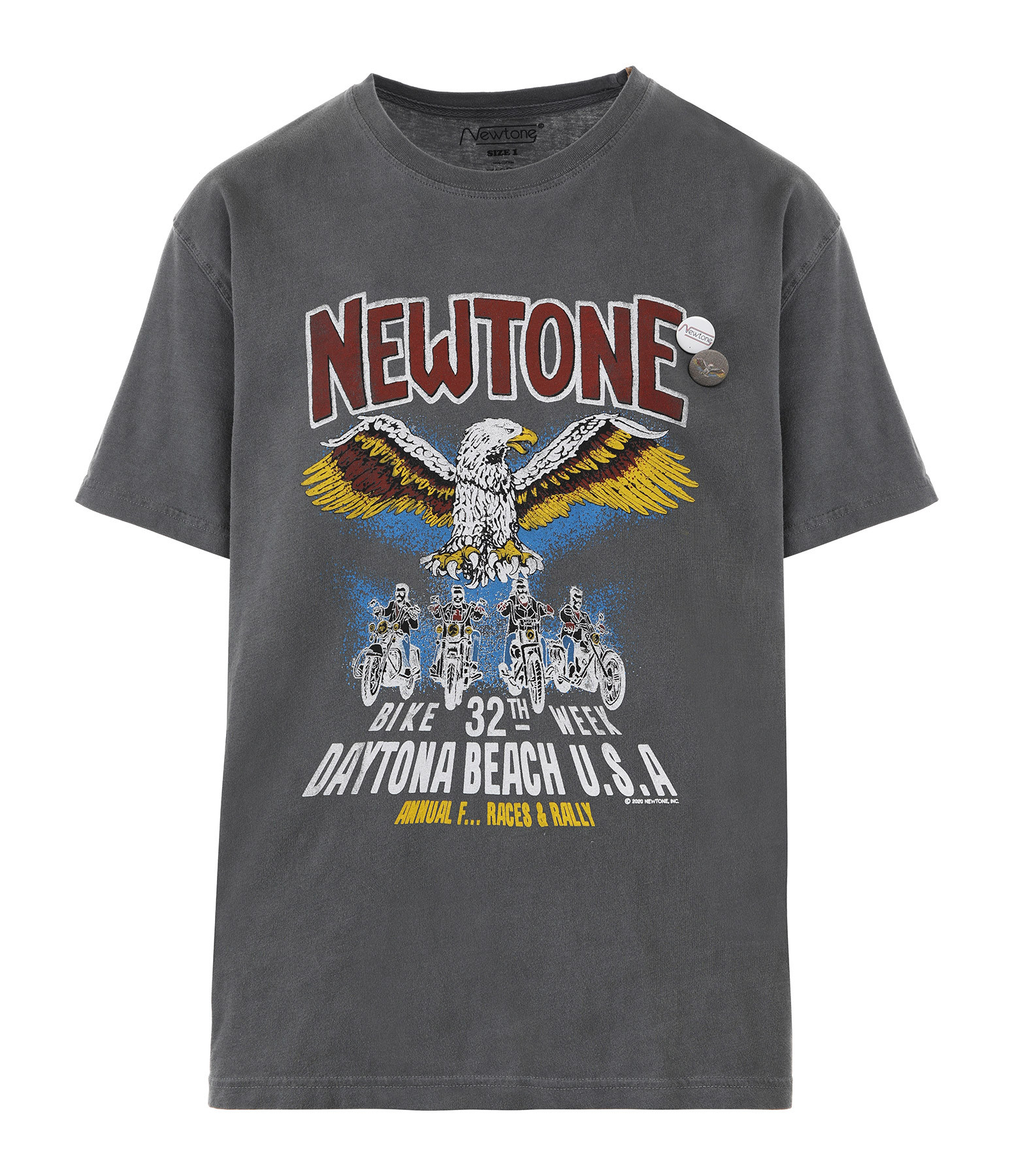 NEWTONE - Tee-shirt Convention Coton Pepper