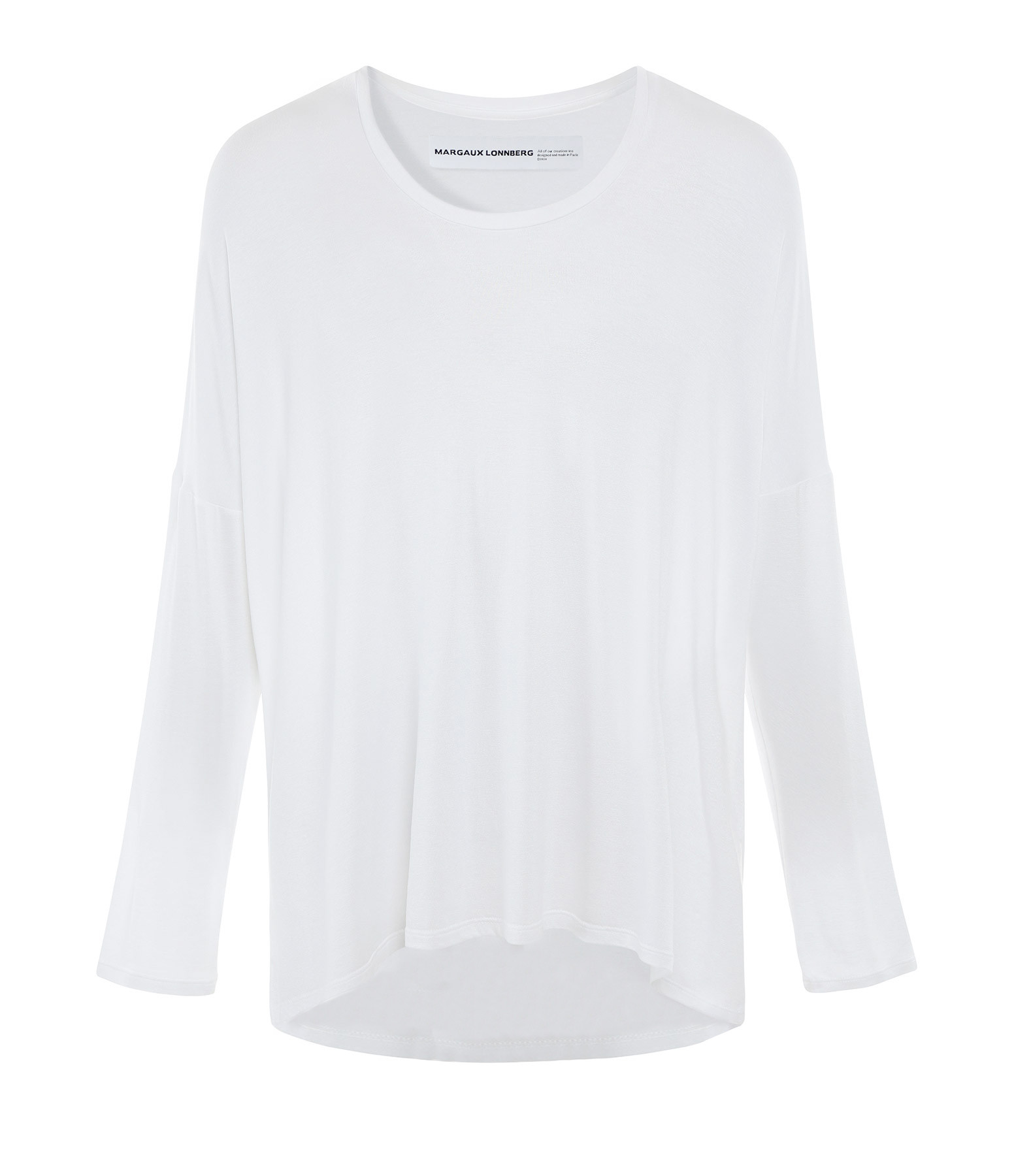 MARGAUX LONNBERG - Tee-shirt Ines Coton Blanc