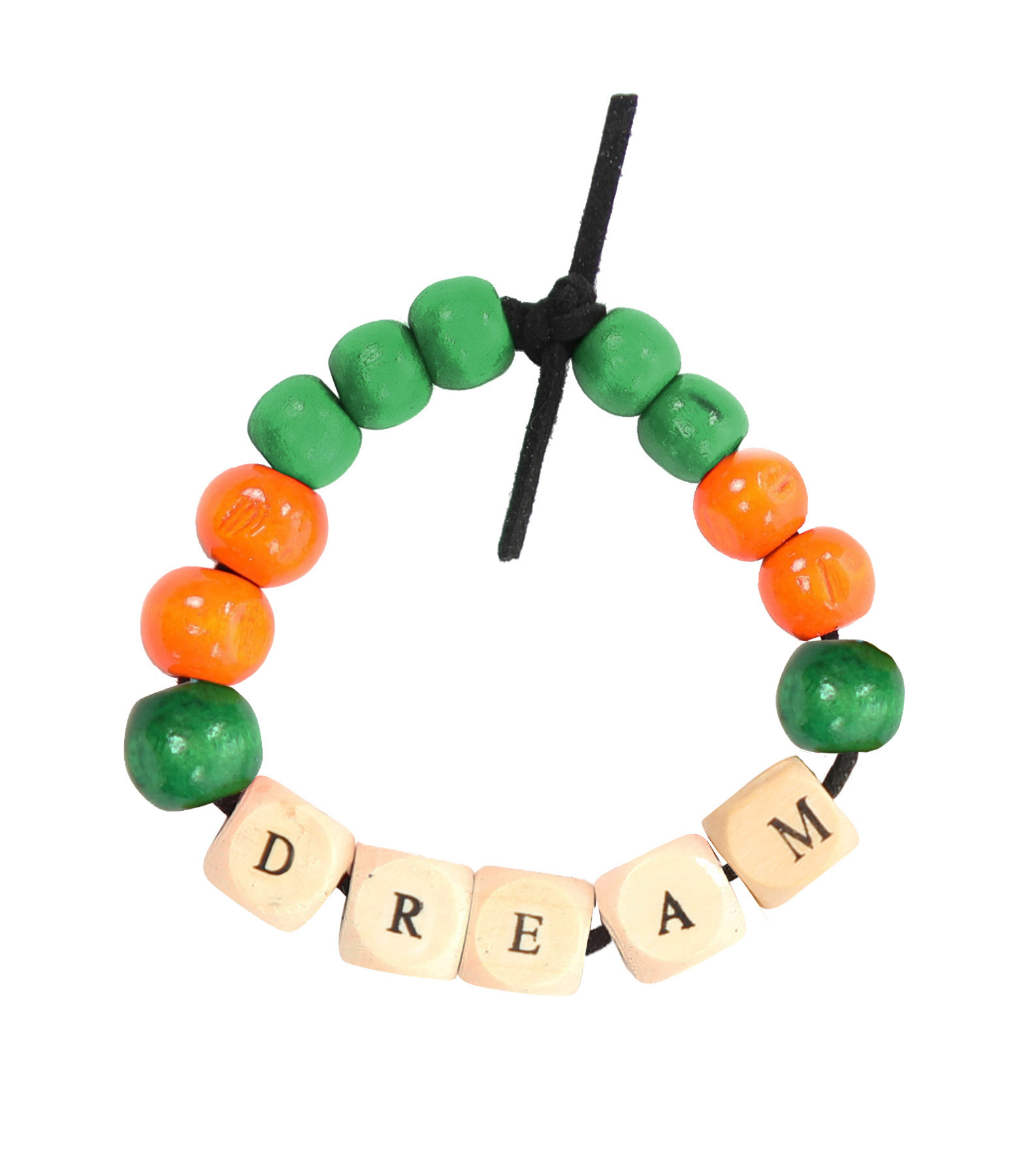 LAUREN RUBINSKI - Bracelet Love Beads Bois DREAM