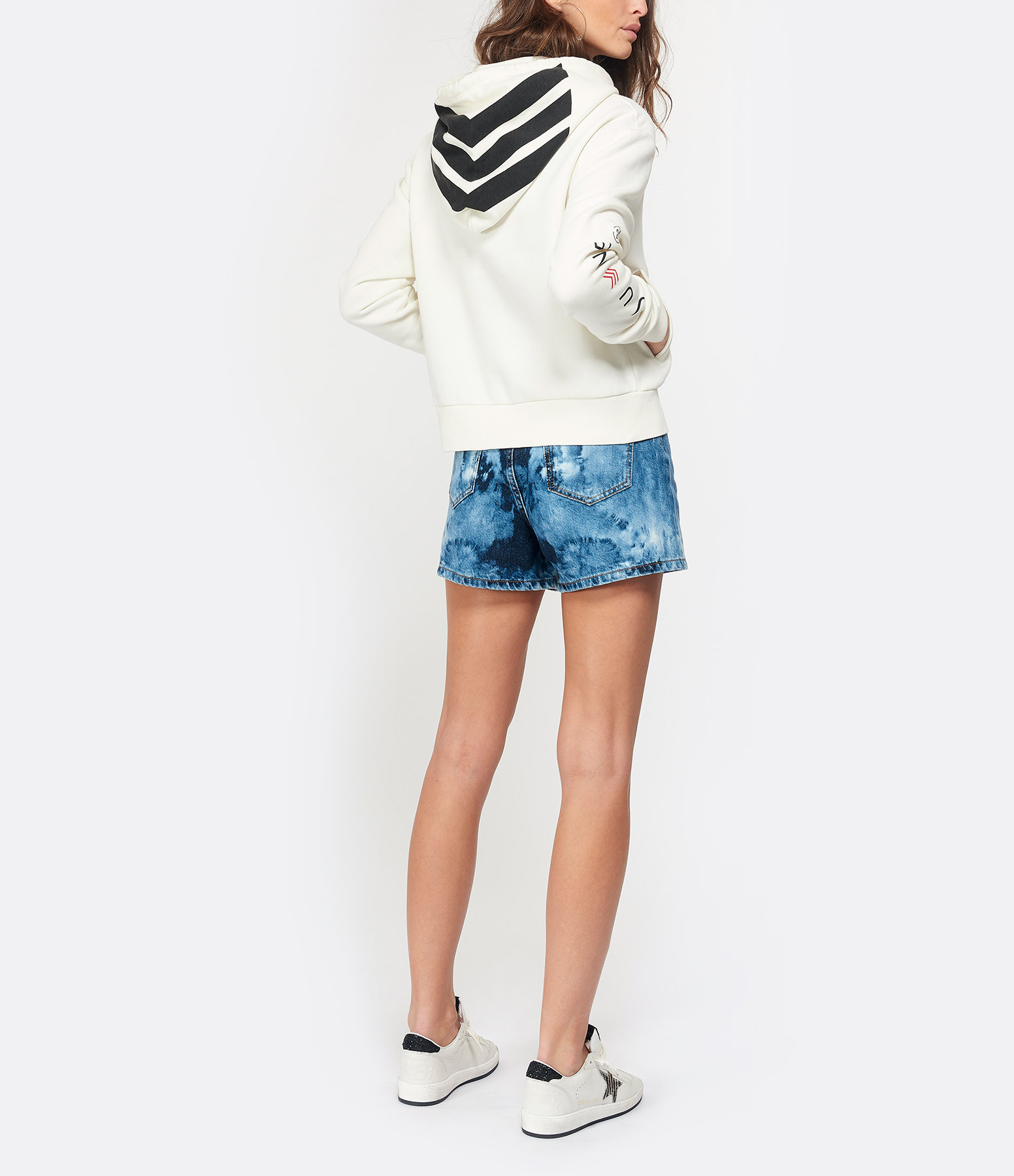 JUNE 7.2 - Sweatshirt Hanna Exclu Lulli Blanc