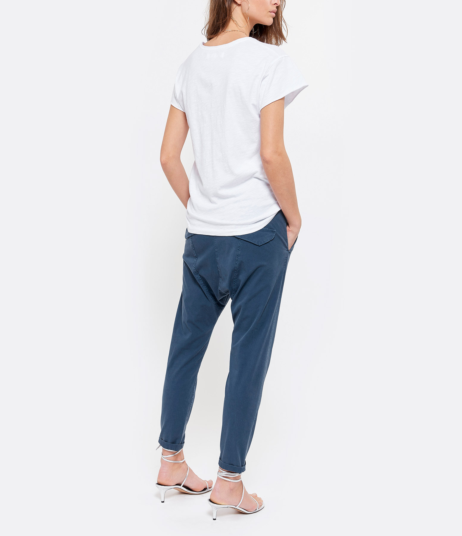 JUNE 7.2 - Tee-shirt Eagle Coton Blanc