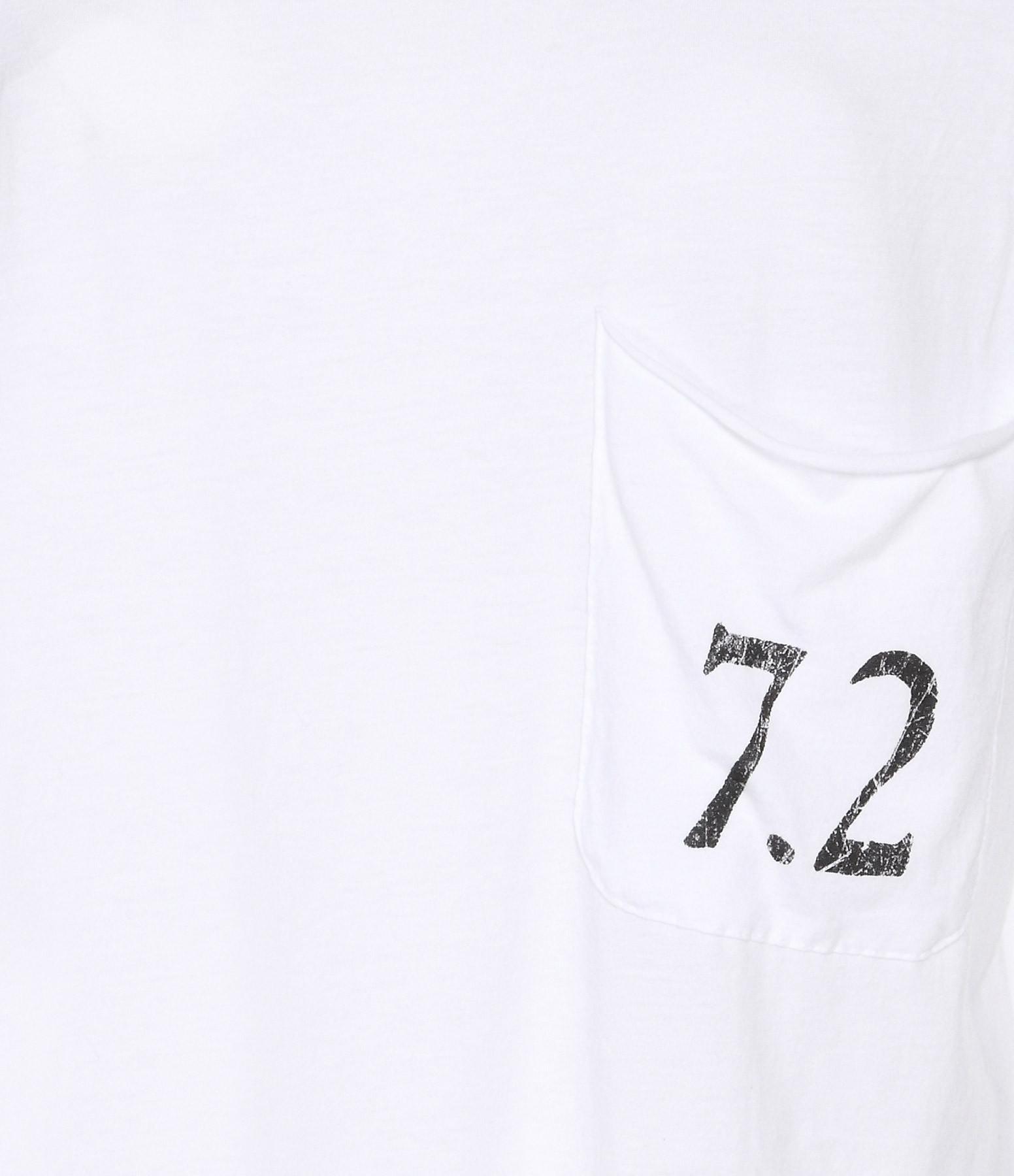 JUNE 7.2 - Tee-shirt Myriam Blanc Logo Noir