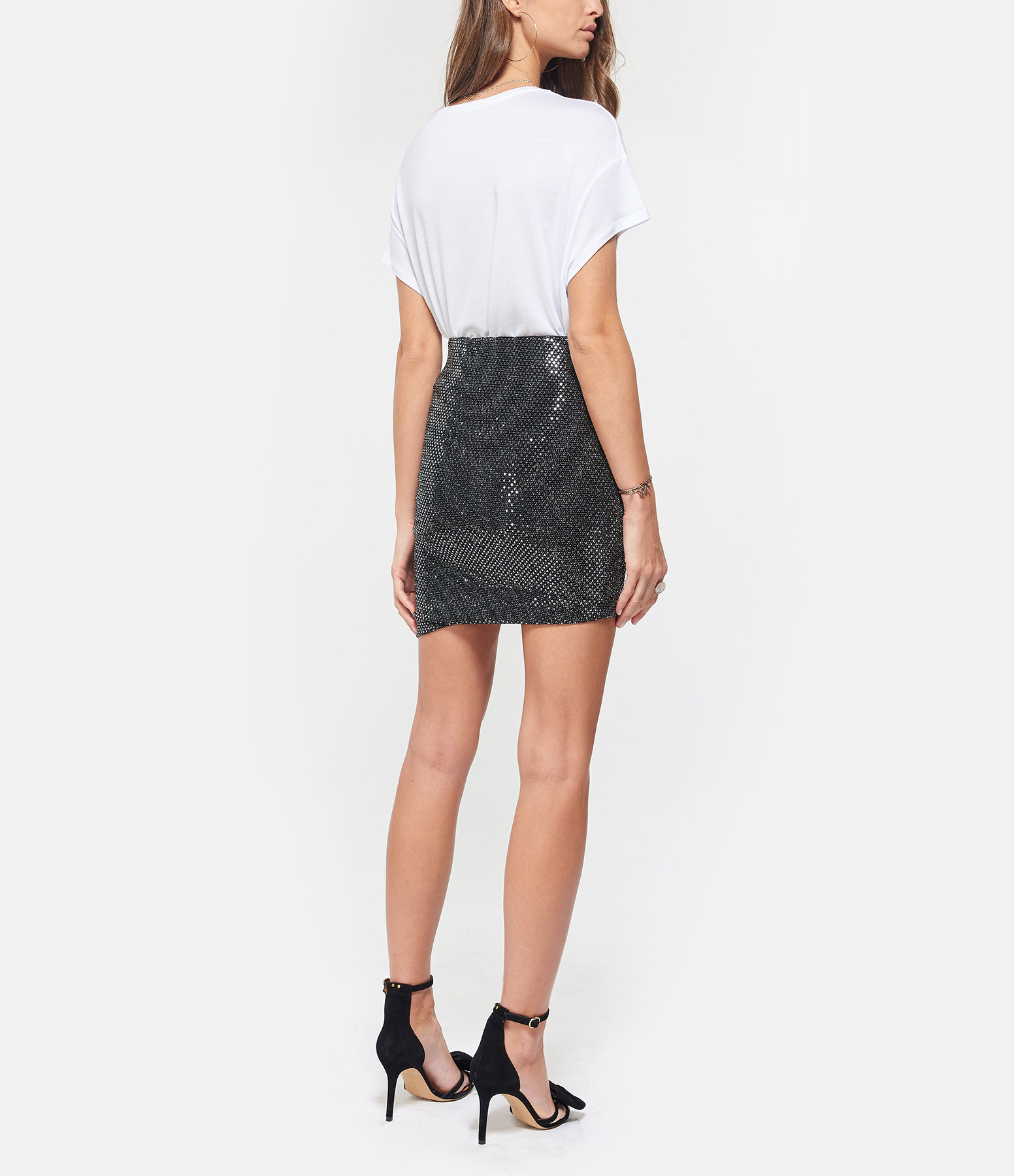 JEANNE VOULAND - Tee-shirt Bacha Lyocell Blanc