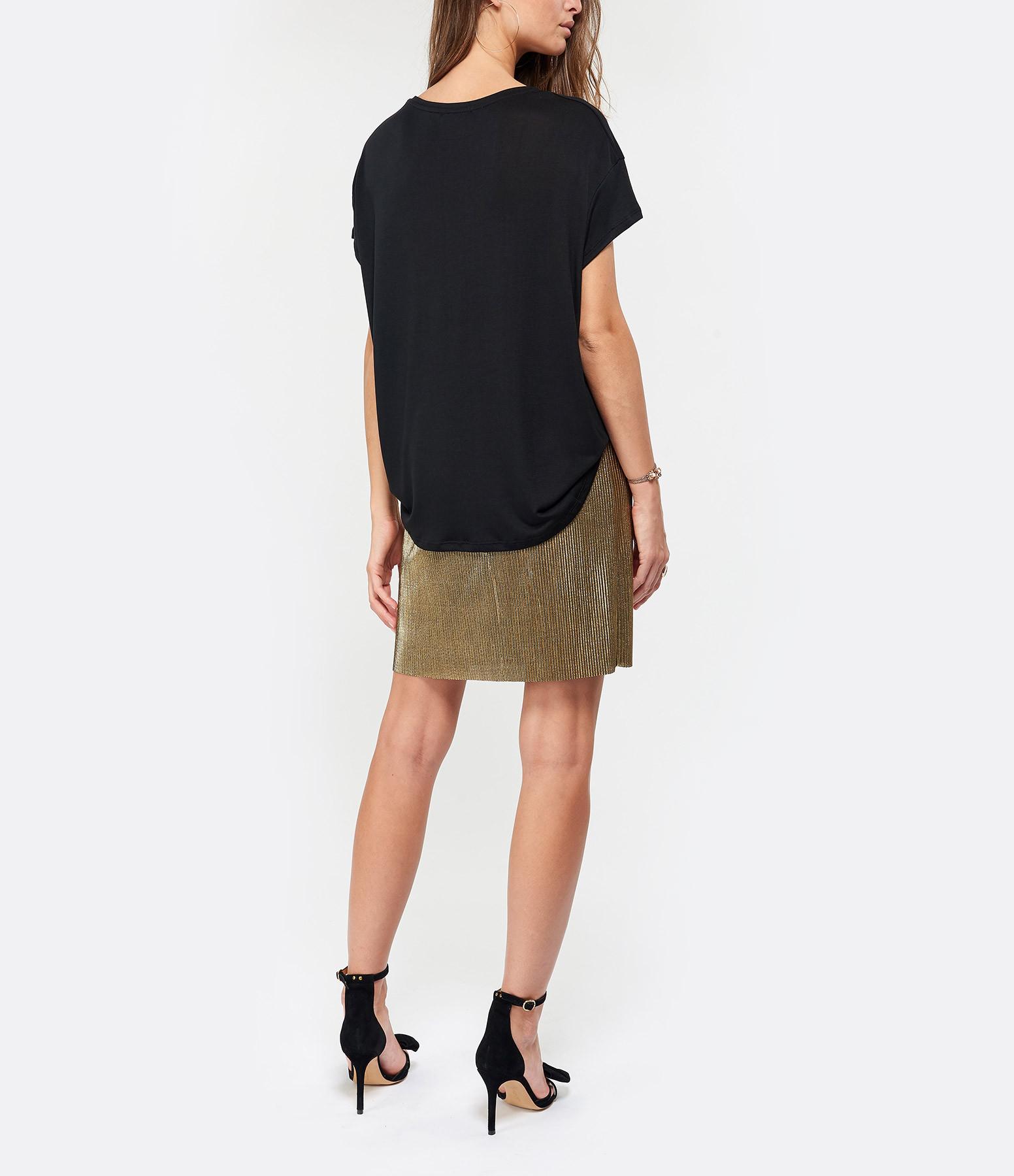 JEANNE VOULAND - Tee-shirt Bacha Lyocell Noir