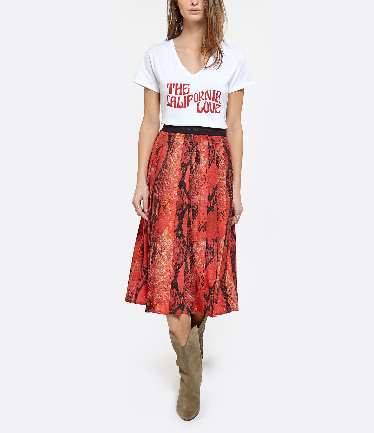 JEANNE VOULAND - Tee-Shirt Dohan California Love Blanc