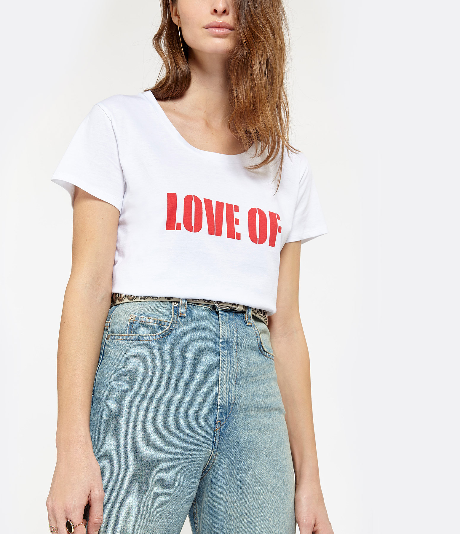JEANNE VOULAND - Tee-Shirt Done Love Of Blanc