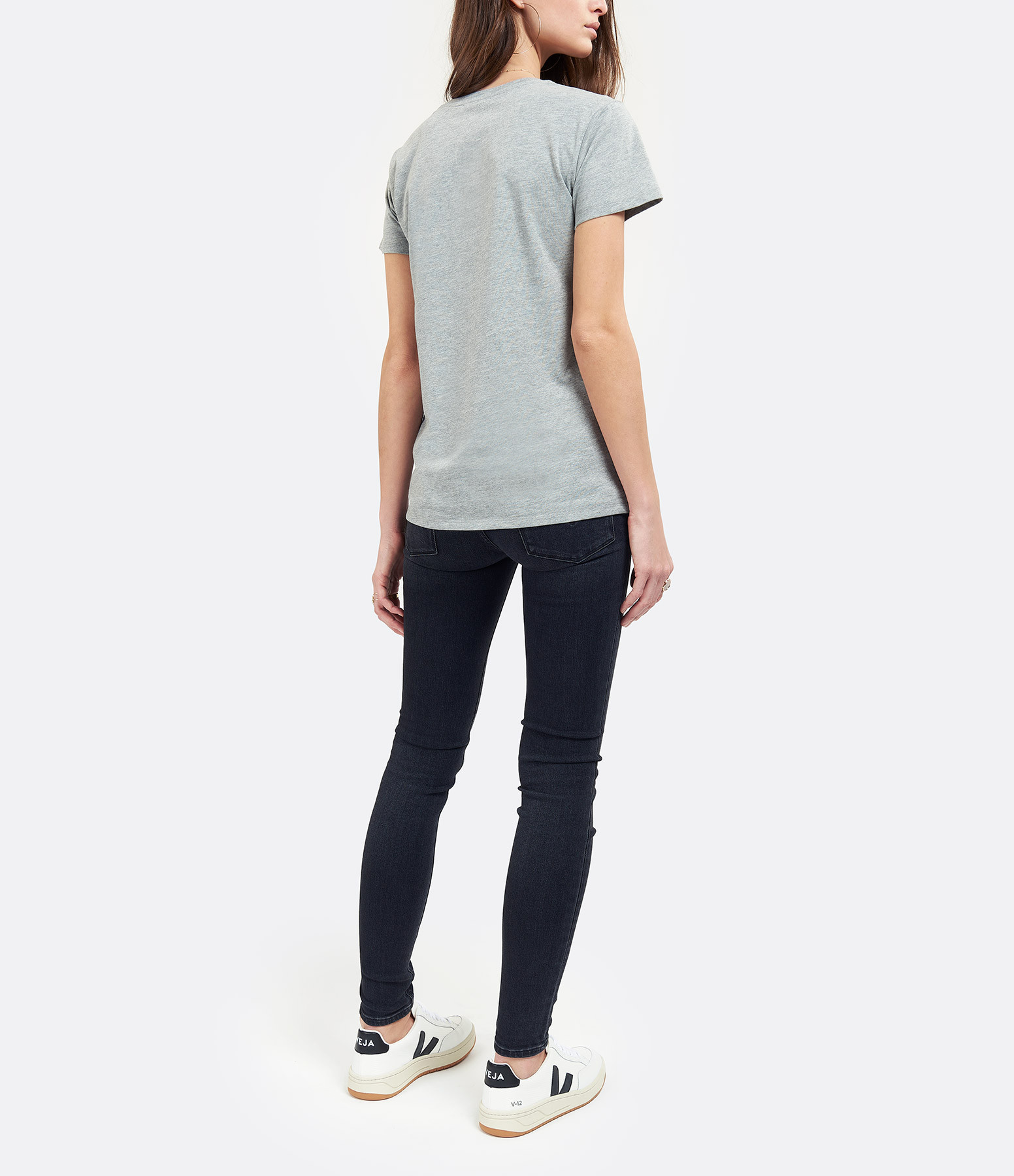 JEANNE VOULAND - Tee-Shirt Devon Venice Gris