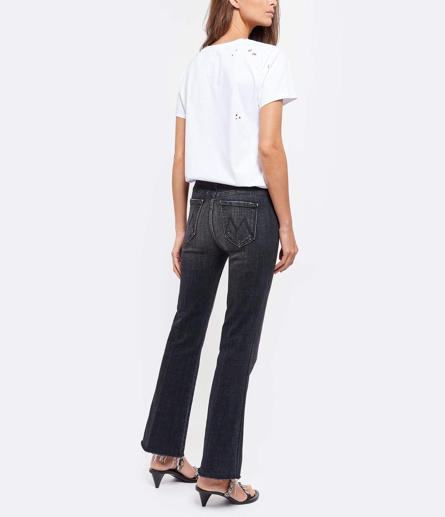 JEANNE VOULAND - Tee-shirt Ermes Destroy Coton Blanc