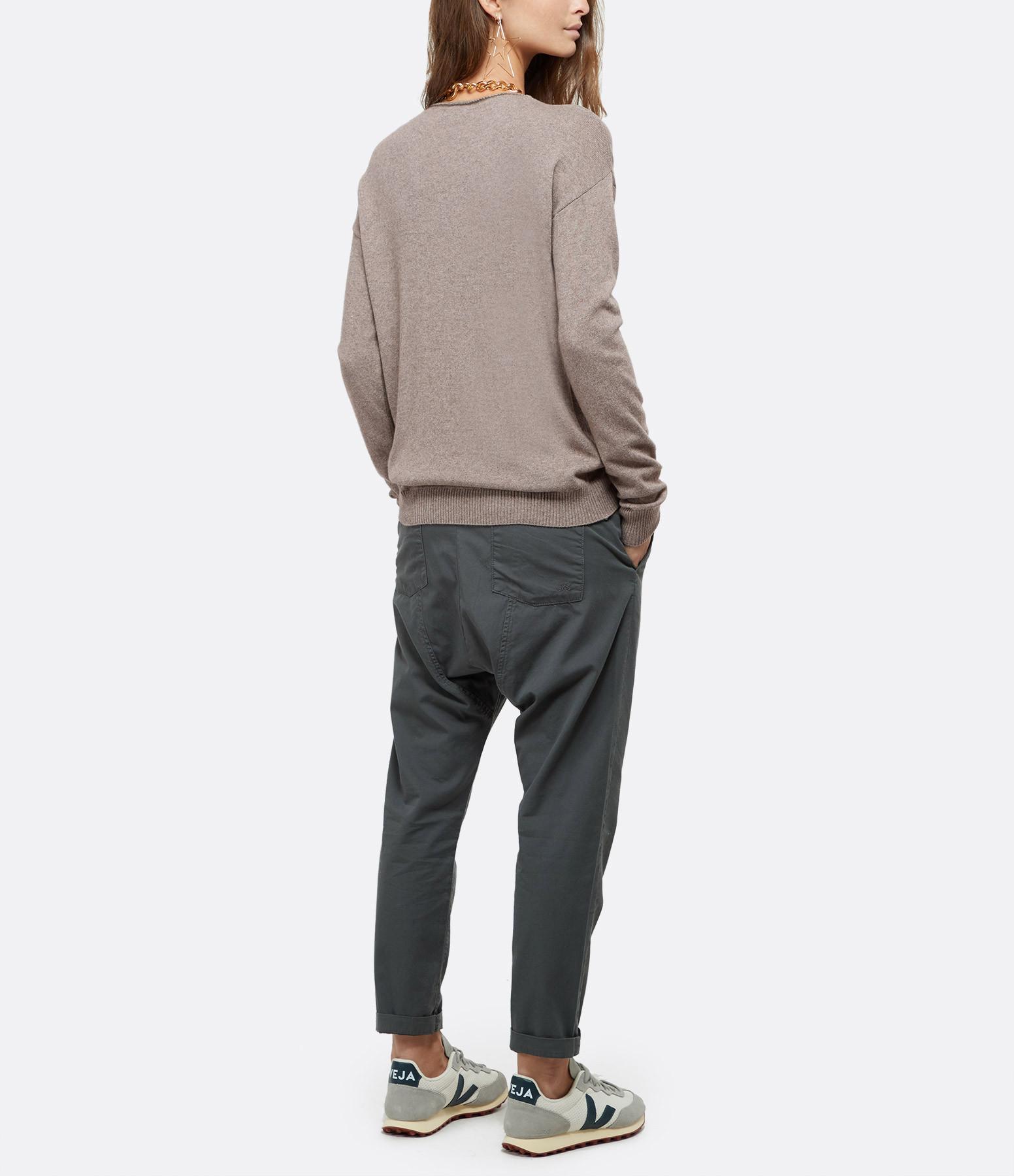 JEANNE VOULAND - Pantalon Darel Cargo Asphalt