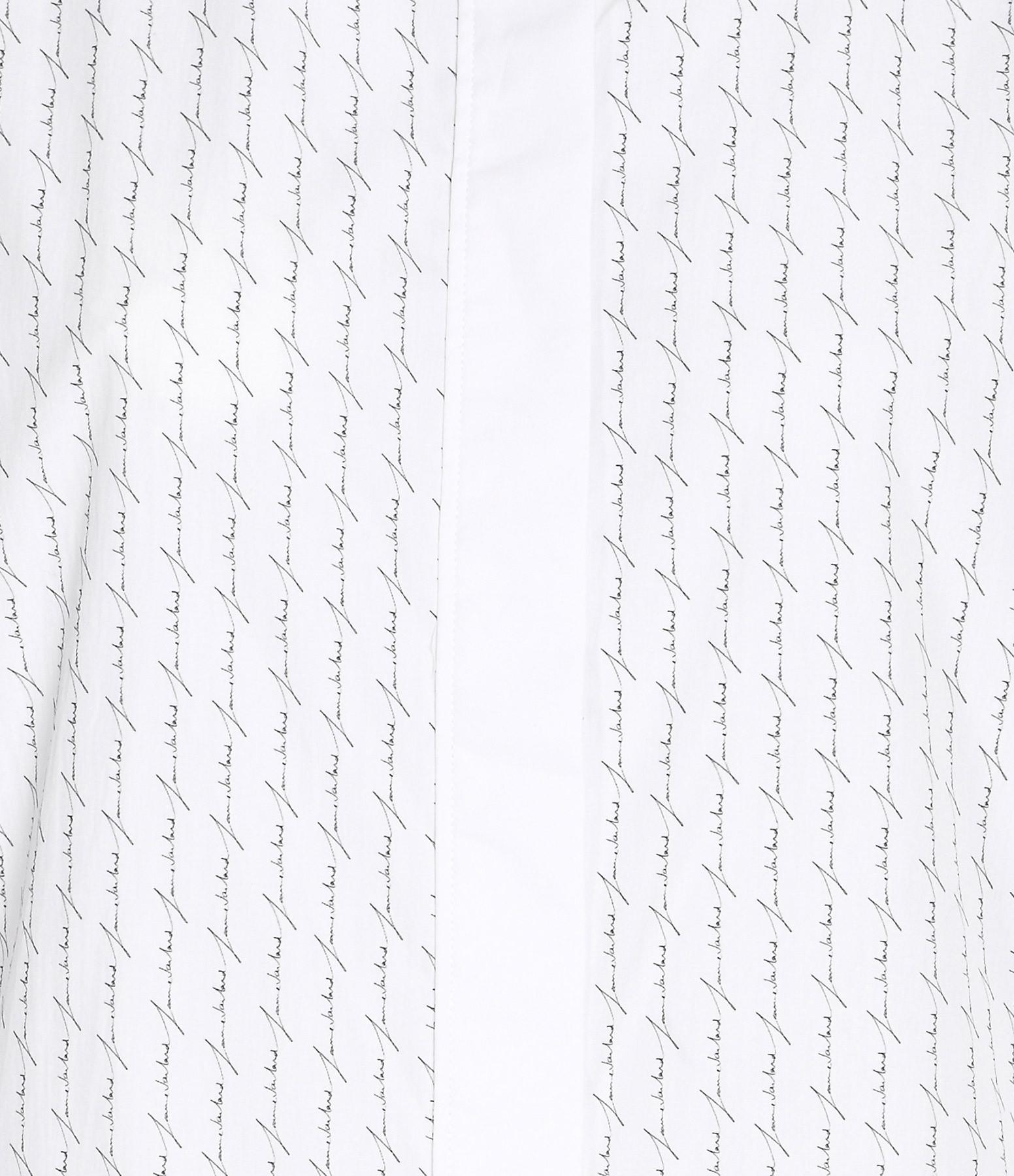 JEANNE VOULAND - Chemise Bay Blanc Rayures Noir