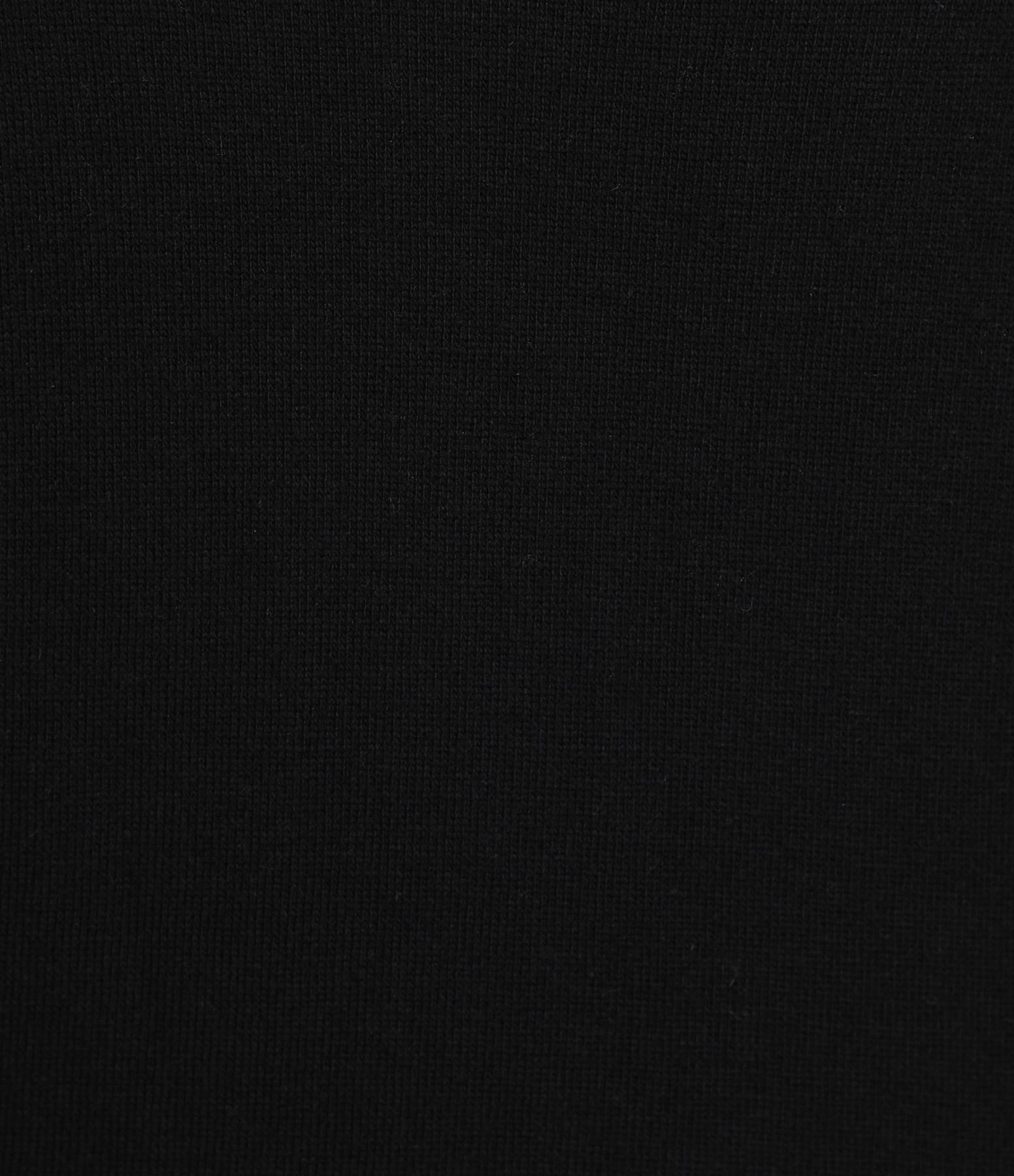 JEANNE VOULAND - Pull Cenzo Col V Noir
