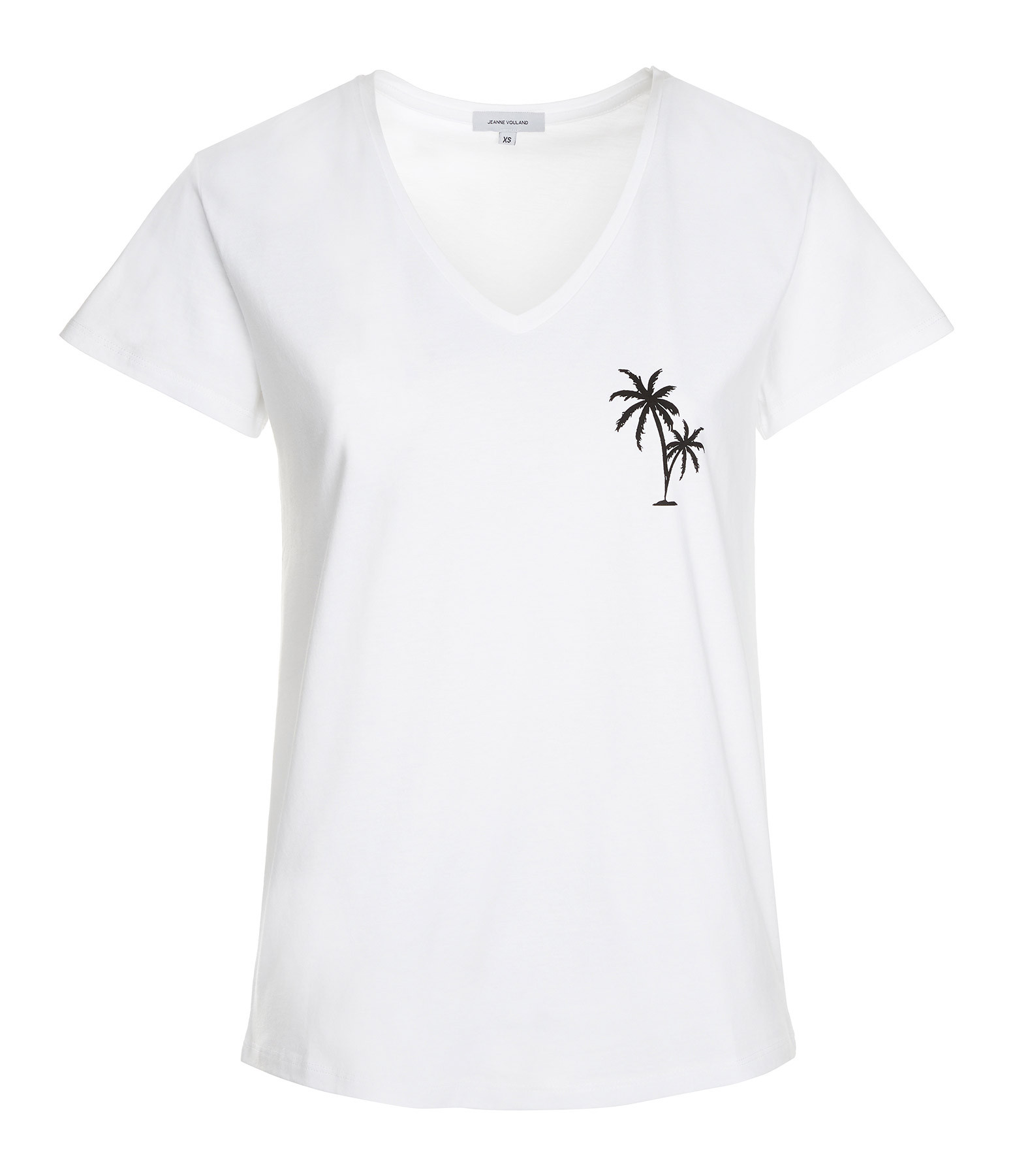 JEANNE VOULAND - Tee-Shirt Darcy Palm Blanc