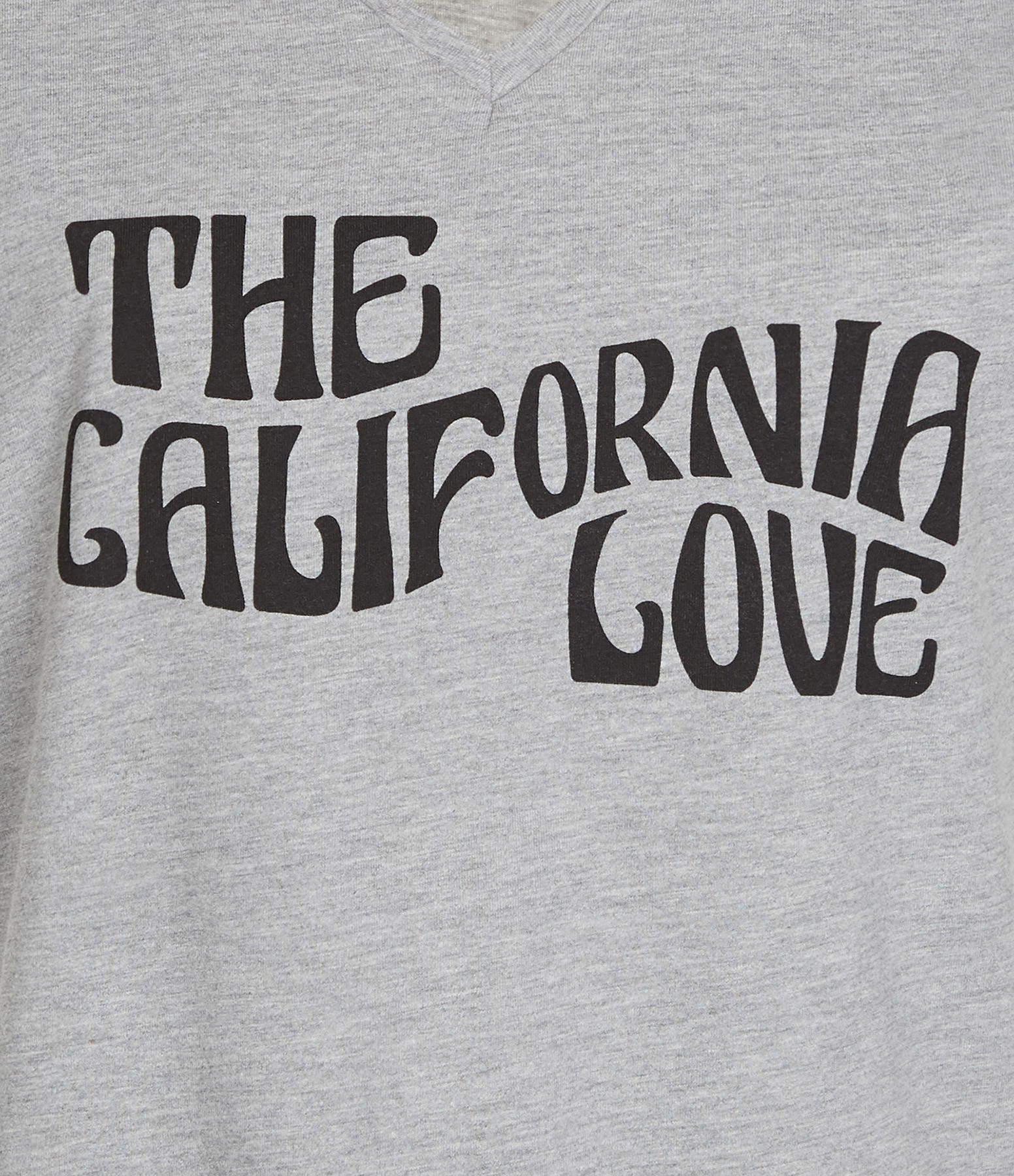 JEANNE VOULAND - Tee-Shirt Dohan California Love Gris
