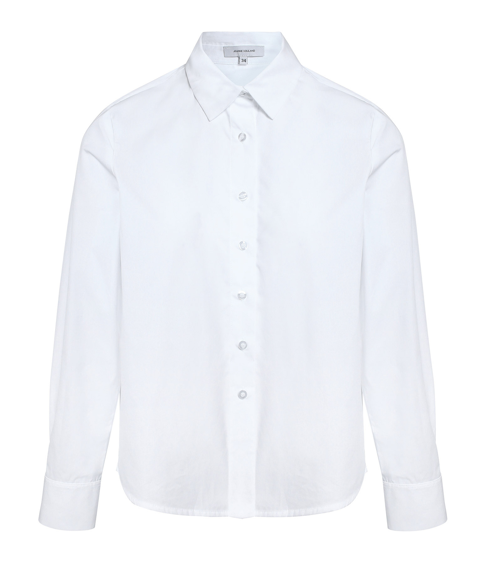 JEANNE VOULAND - Chemise Loose Daan Poplin Blanche
