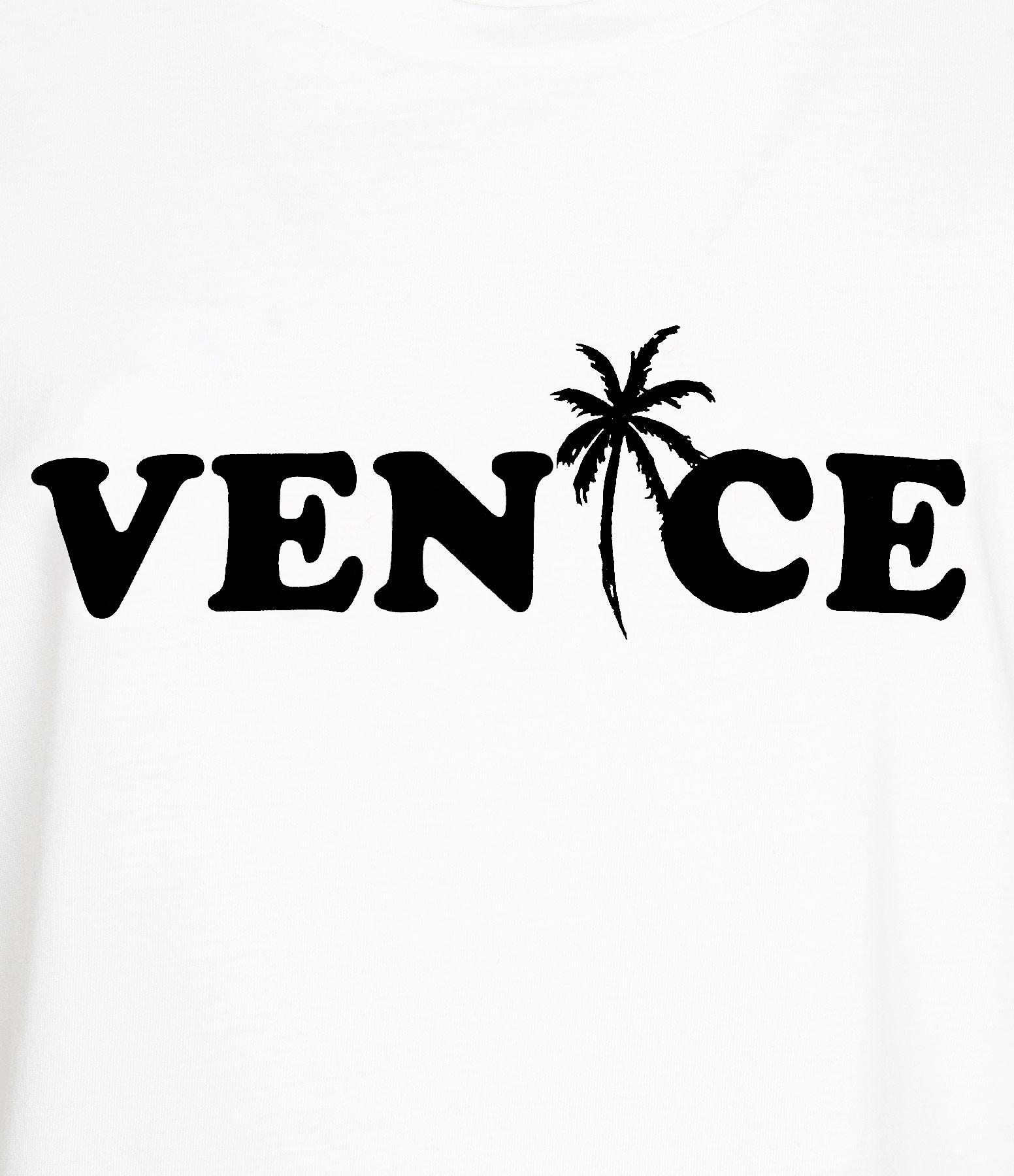 JEANNE VOULAND - Tee-shirt Devon Venice Noir Blanc