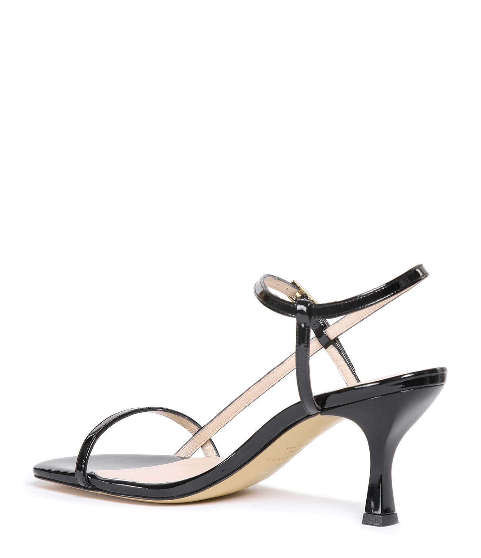 JEANNE VOULAND - Sandales Sublim Multibride Cuir Noir
