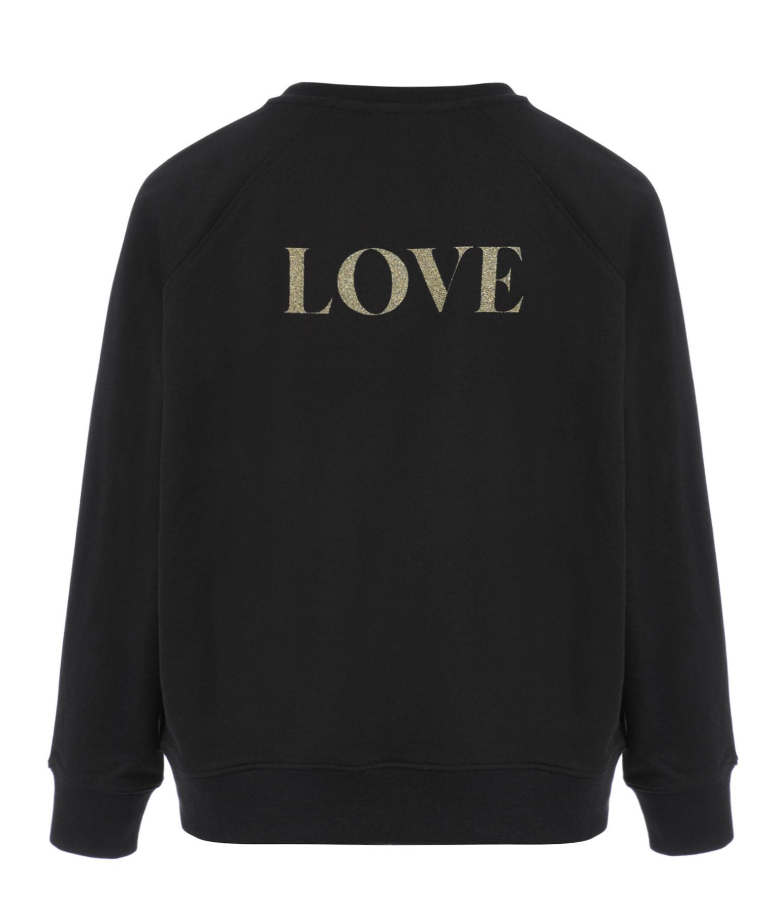 JEANNE VOULAND - Sweatshirt Celo Rock Love Glitter, Exclusivité Noël