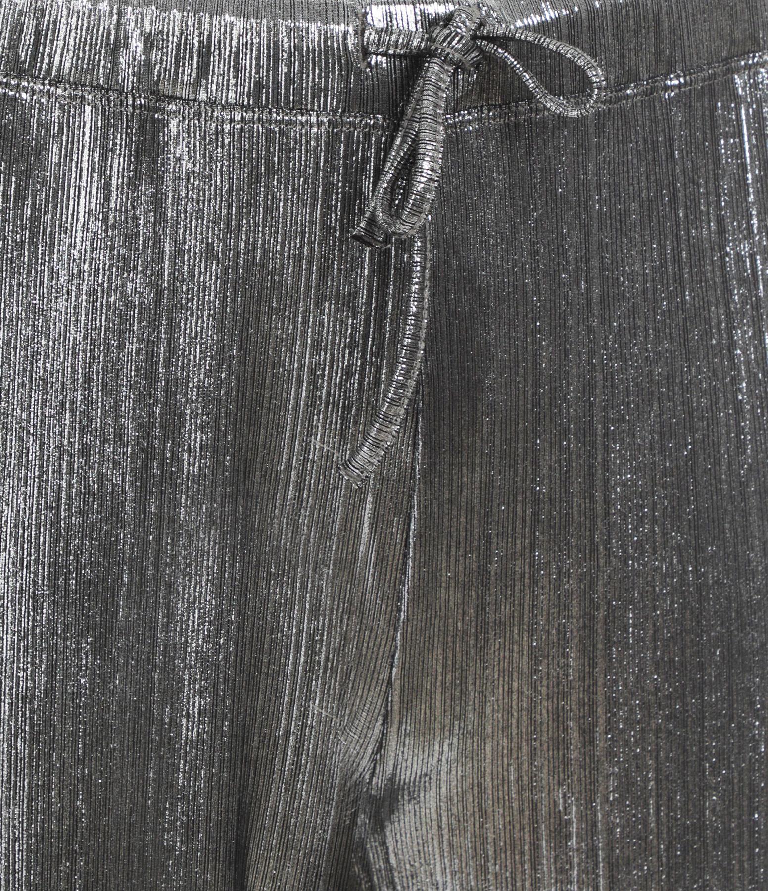 JEANNE VOULAND - Pantalon Fynn Argenté