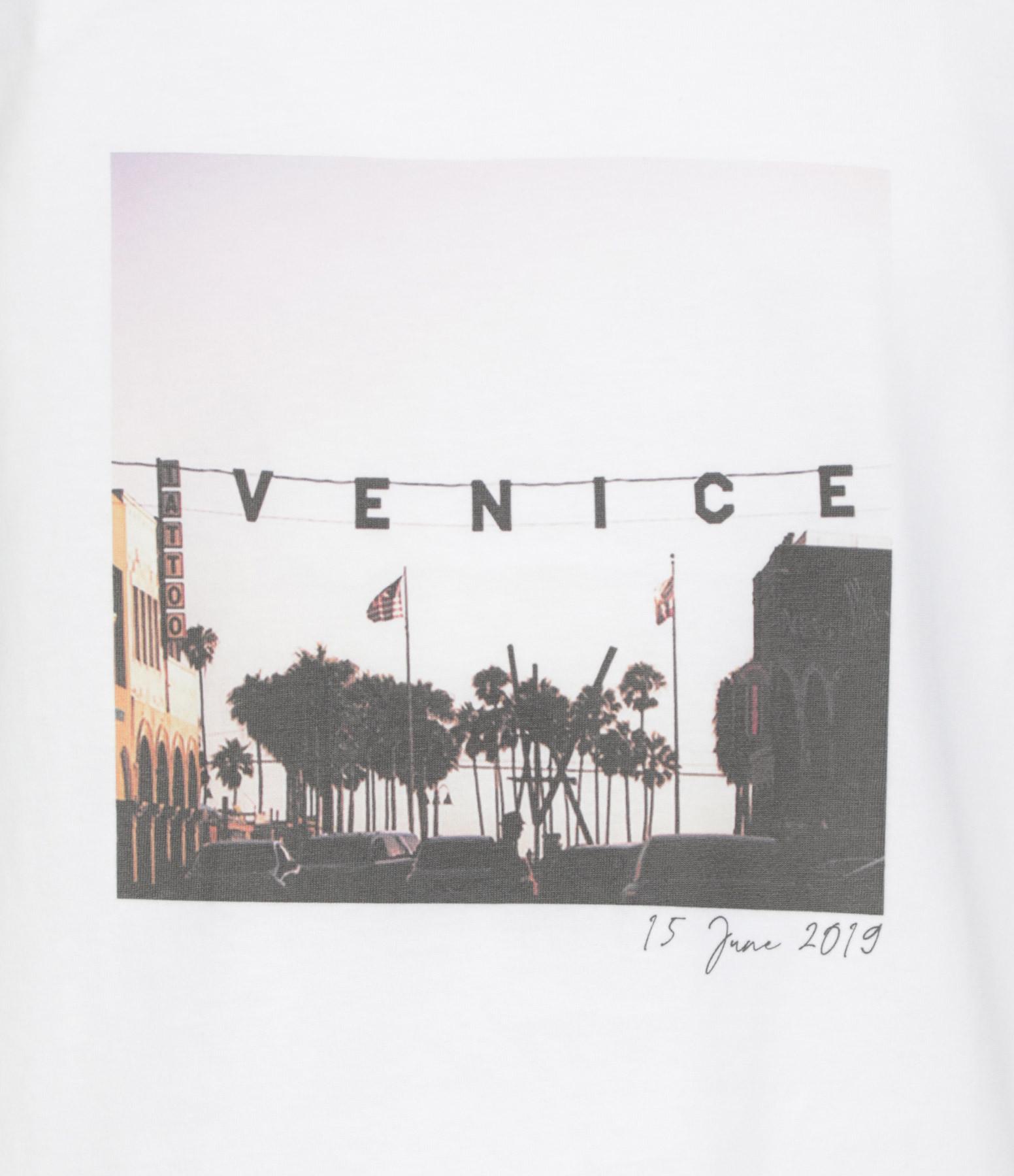 JEANNE VOULAND - Débardeur Faiz Sunset Venice Blanc