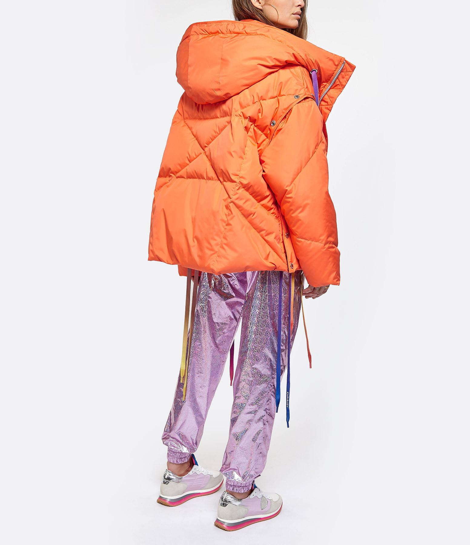 KHRISJOY - Veste Doudoune Khris Orange