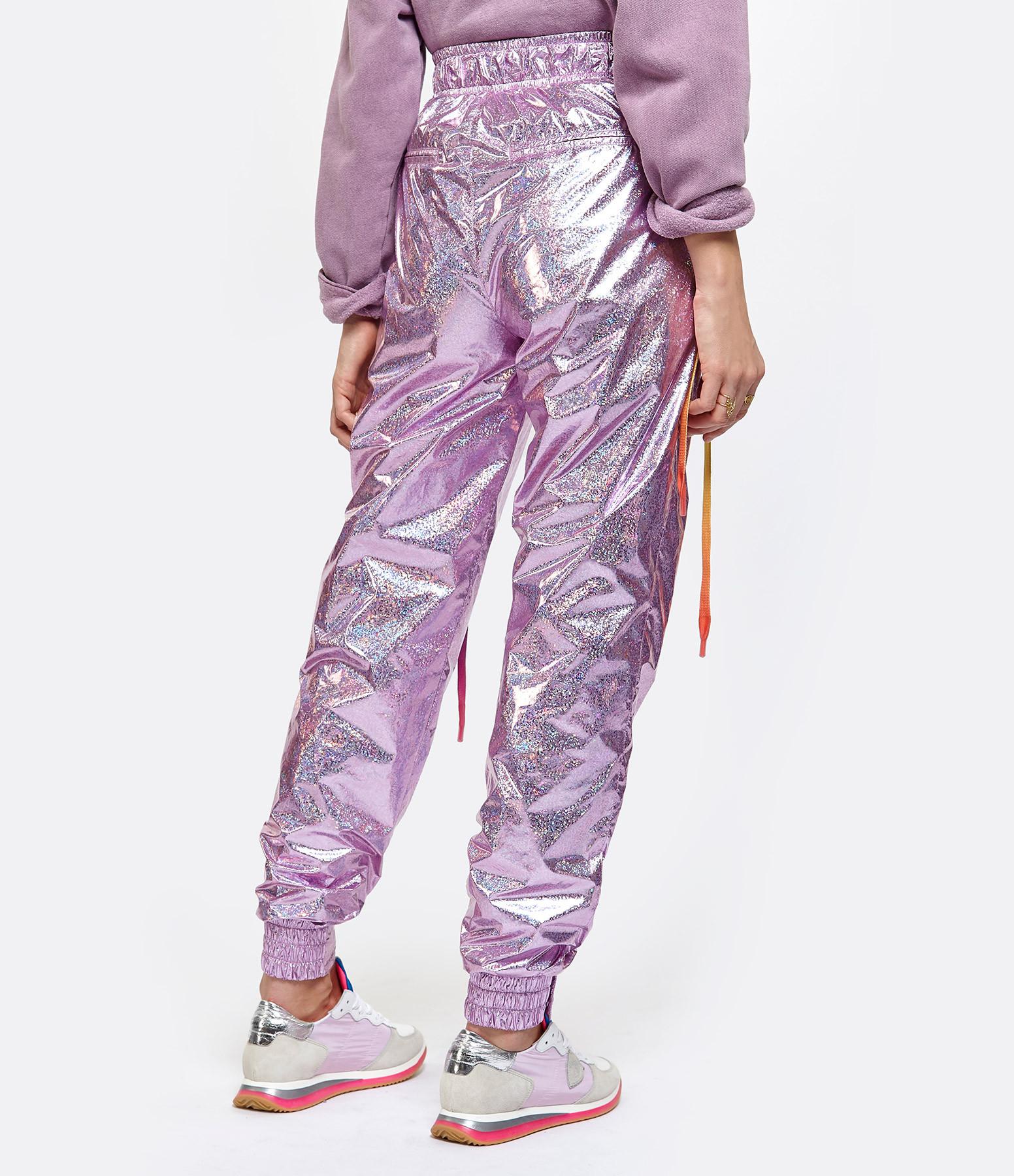 KHRISJOY - Pantalon Drawstring Rose Confetti