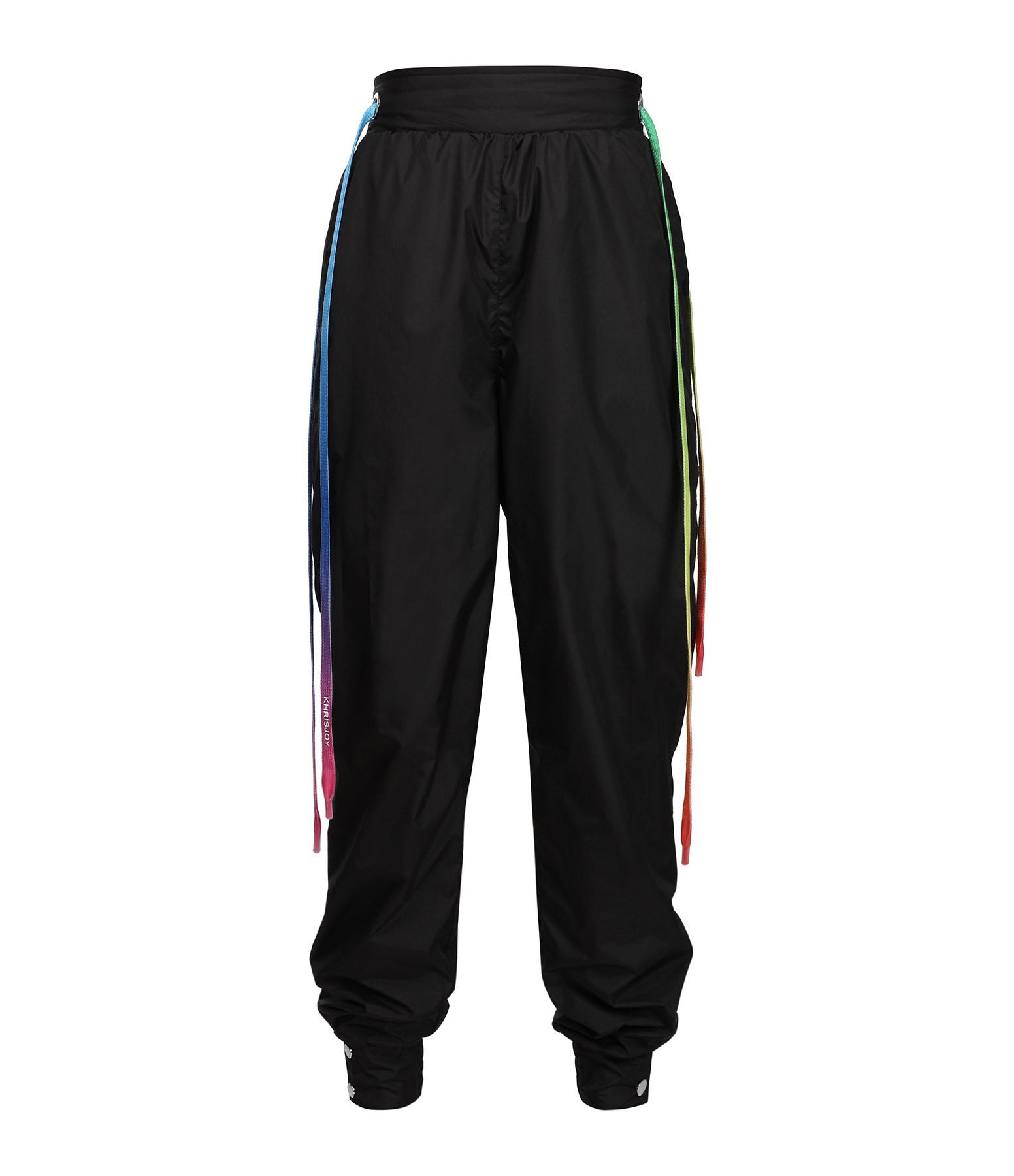KHRISJOY - Pantalon Drawstring Noir