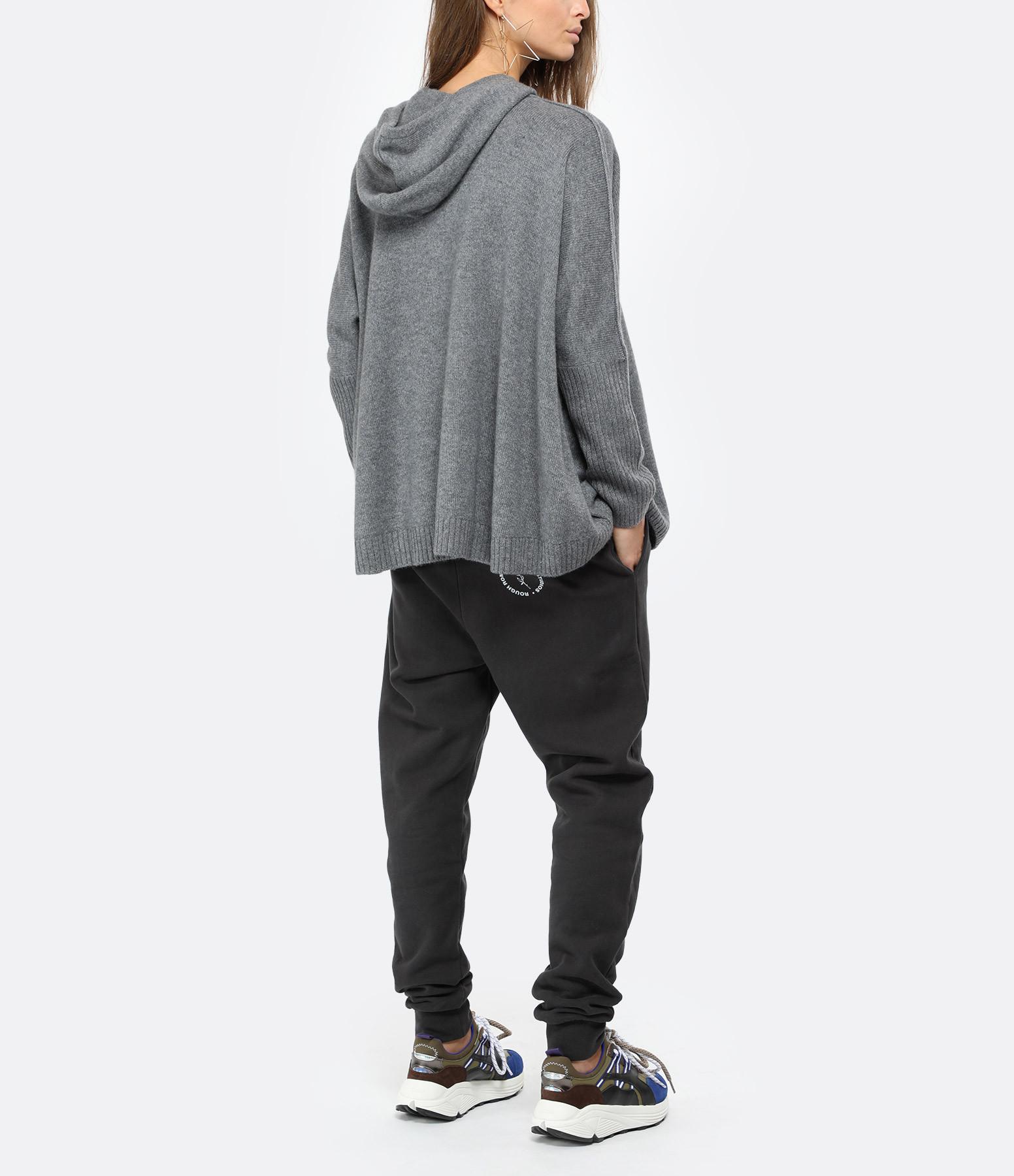 KUJTEN - Sweatshirt Reena Oversize Cachemire Gris Flanelle