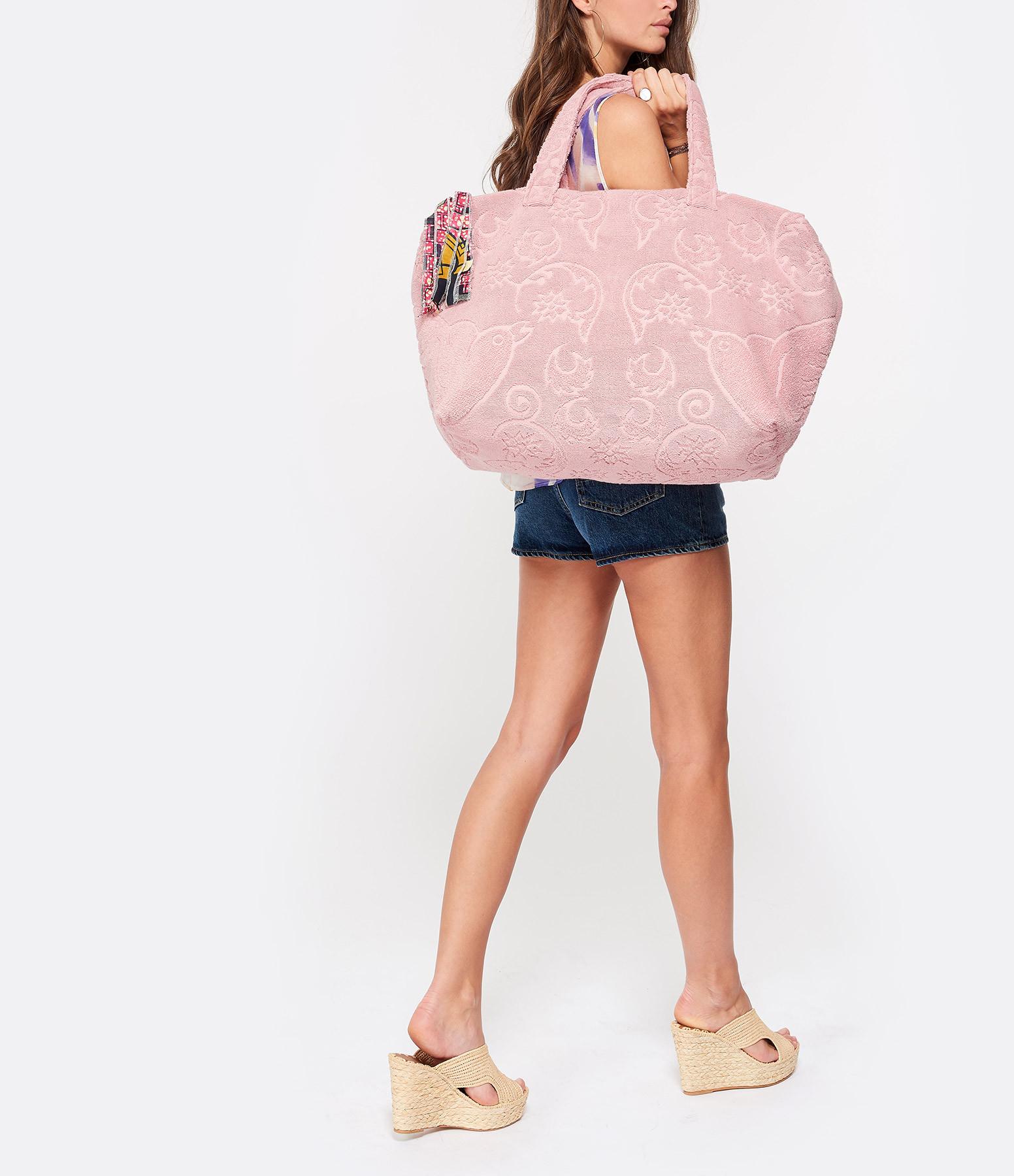 LALLA - Sac de Plage Socco Eponge Blush