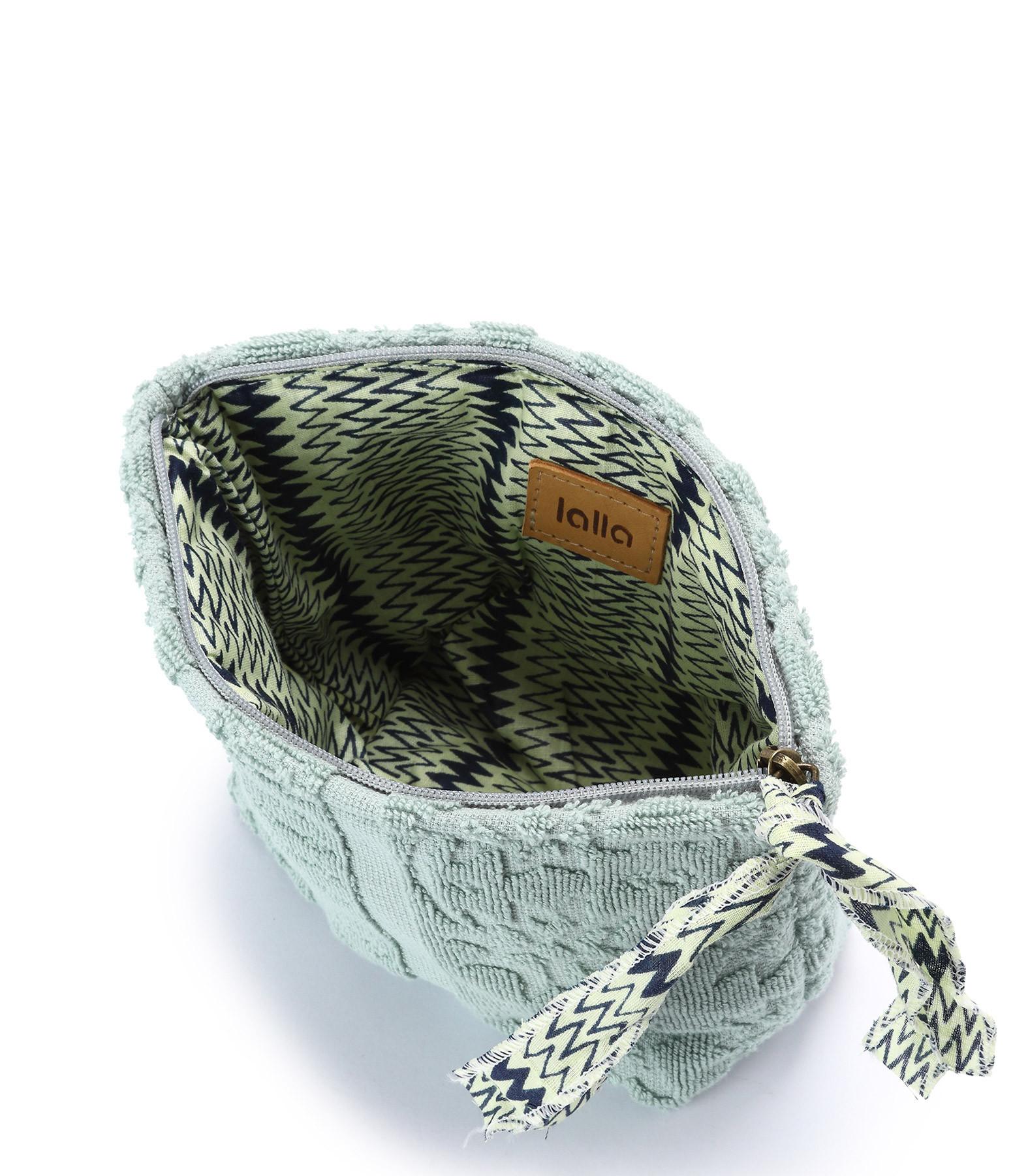 LALLA - Petite Trousse Walakin Eponge Bleu Gris