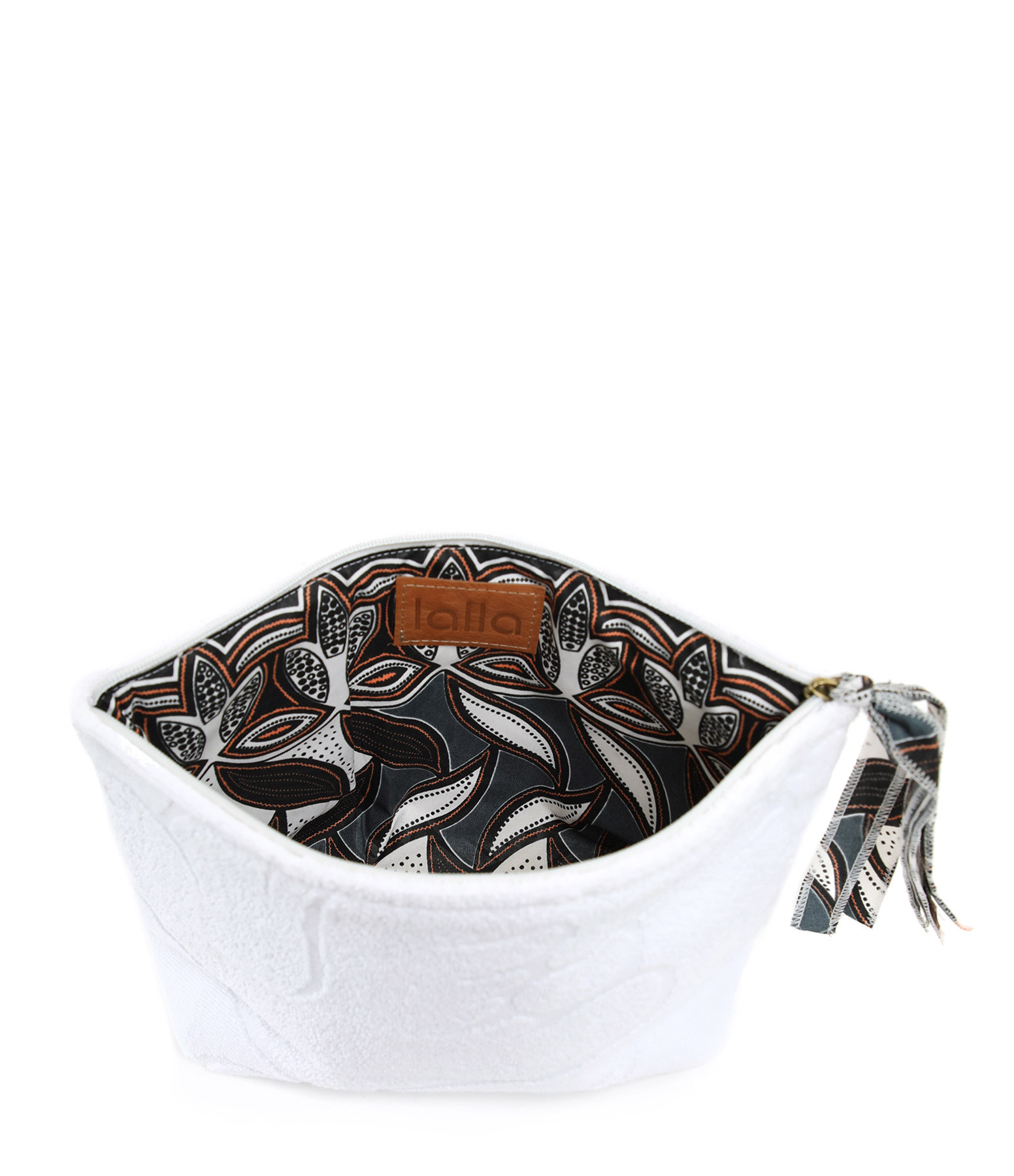 LALLA - Grande Trousse Walakin Éponge Blanc