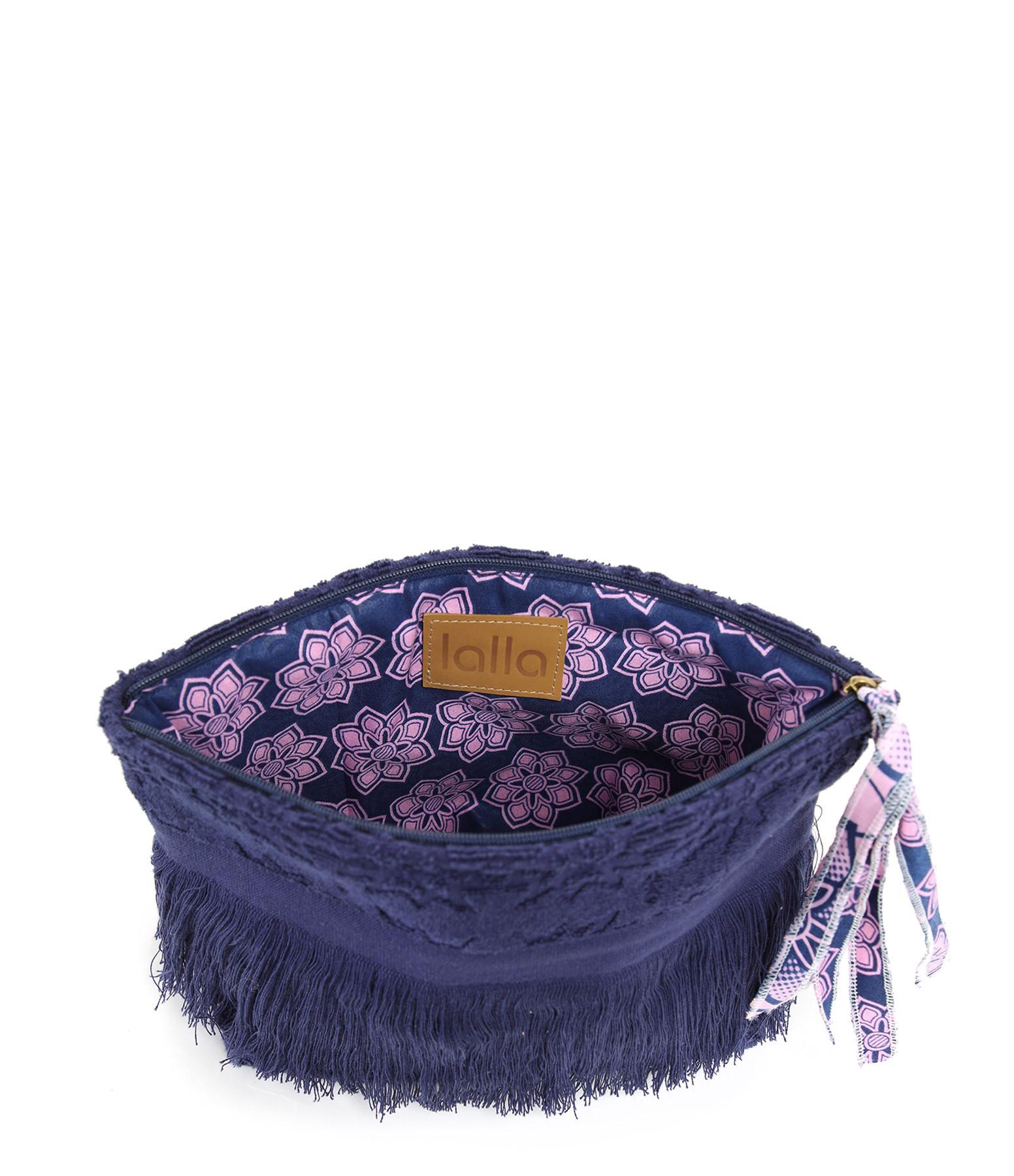 LALLA - Petite Trousse Walakin Hippie Éponge Navy