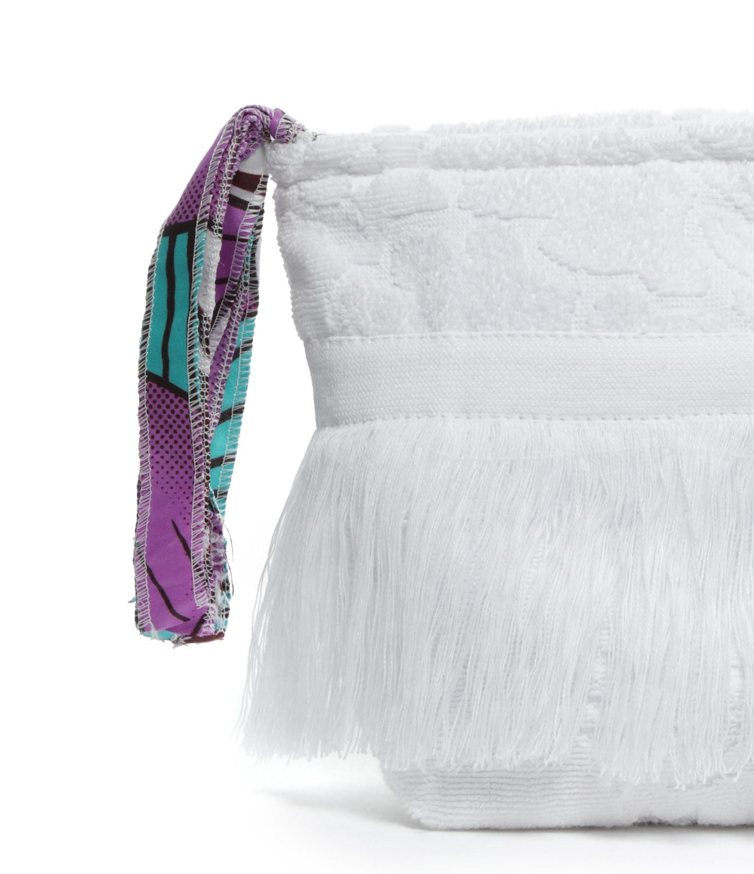 LALLA - Grande Trousse Walakin Hippie Éponge Blanc