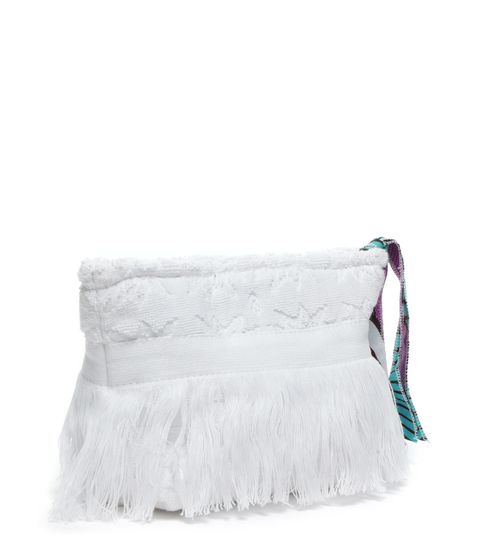 LALLA - Petite Trousse Walakin Hippie Éponge Blanc