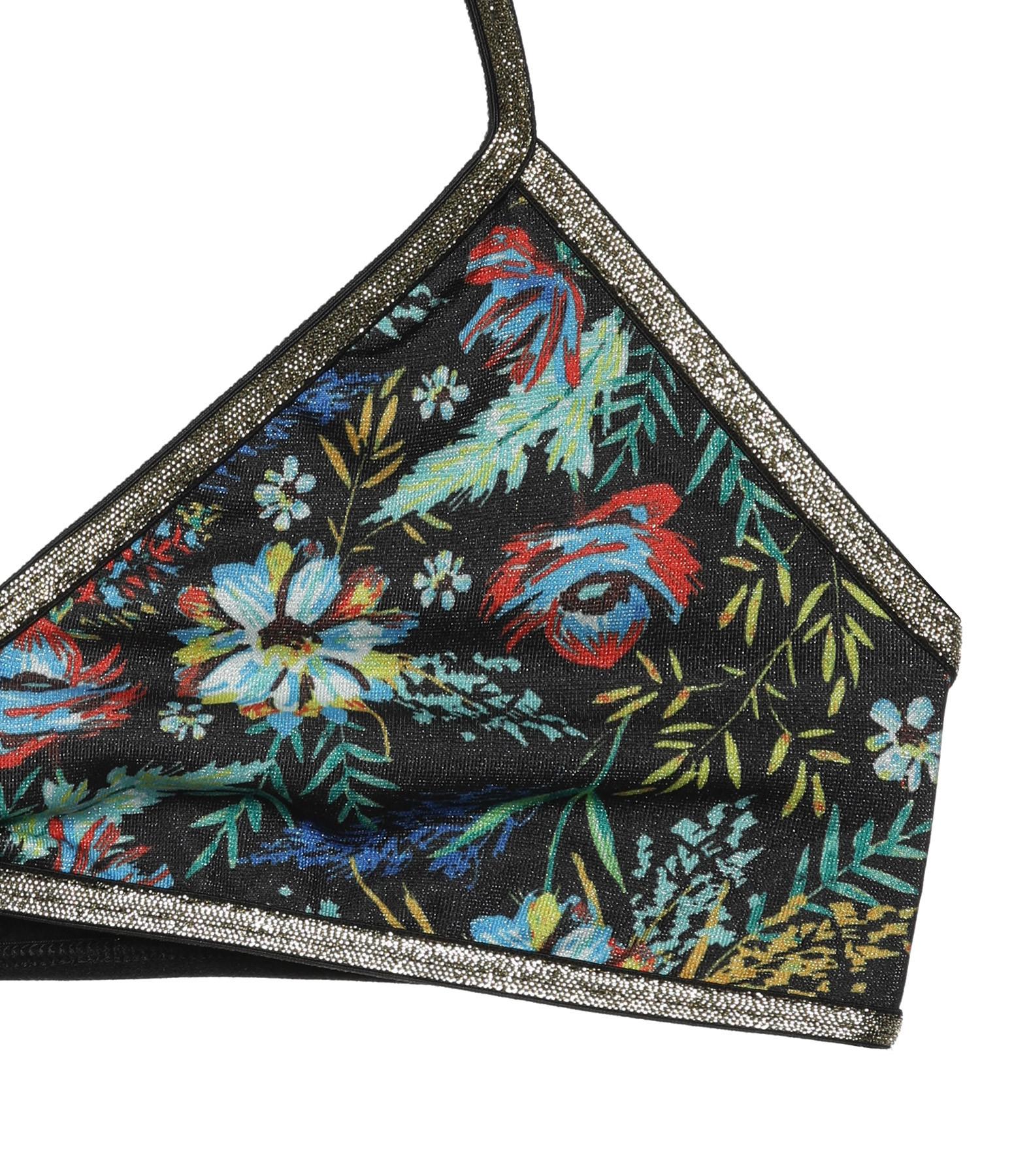LA NOUVELLE - Haut de Maillot de Bain Adèle Imprimé Floral