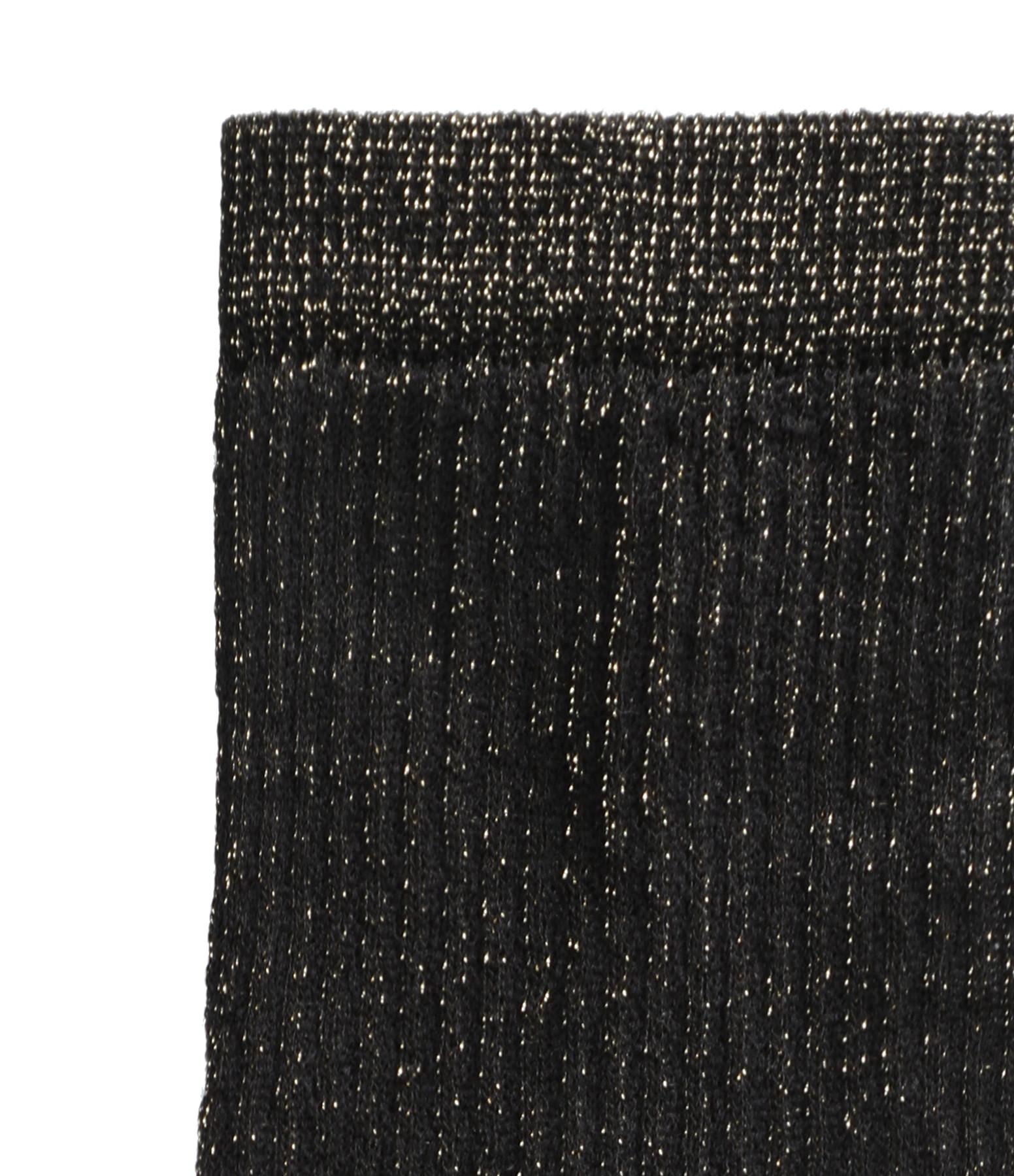 LA NOUVELLE - Chaussettes Lurex Noir