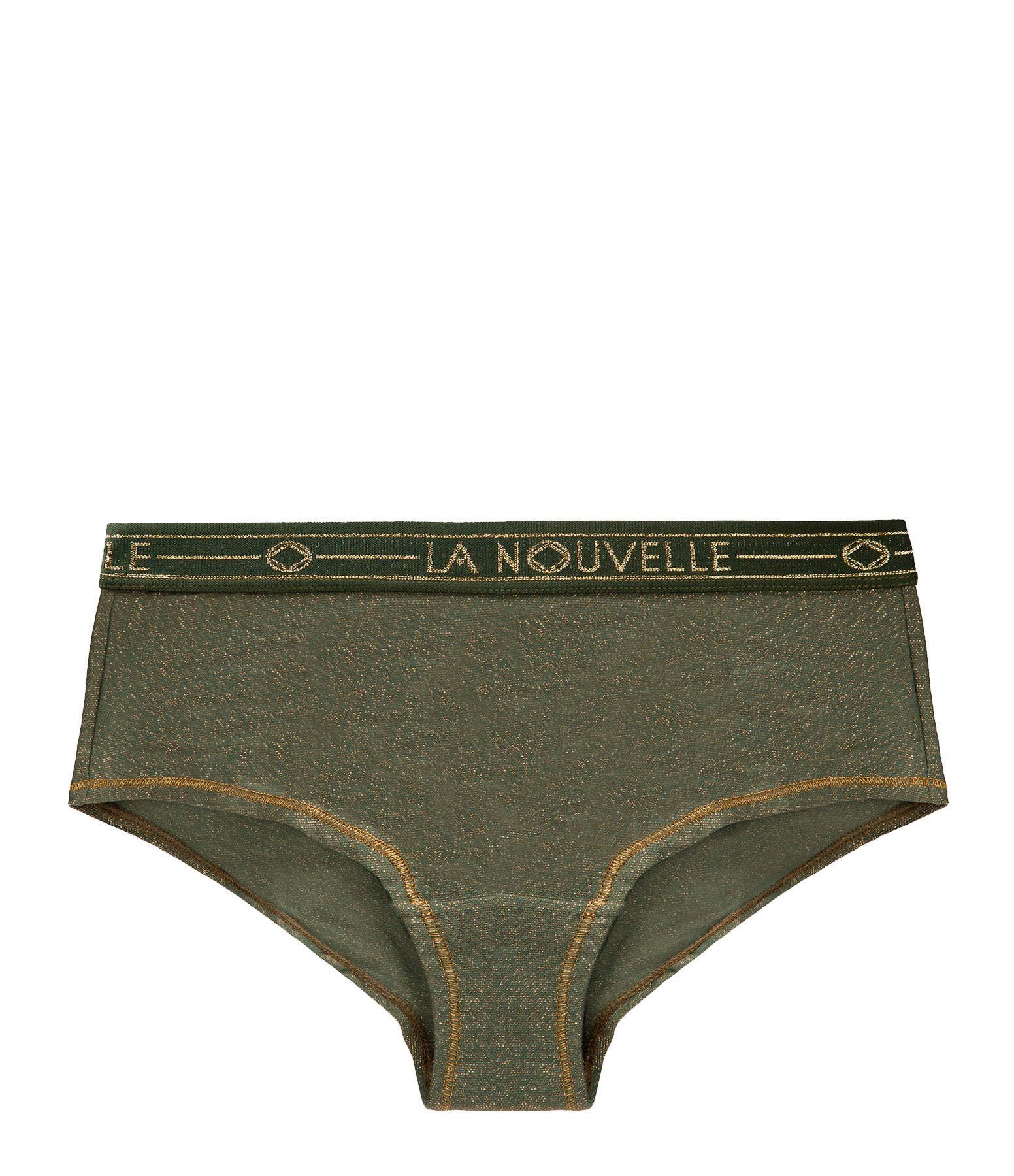 LA NOUVELLE - Shorty Judith Lurex Vert