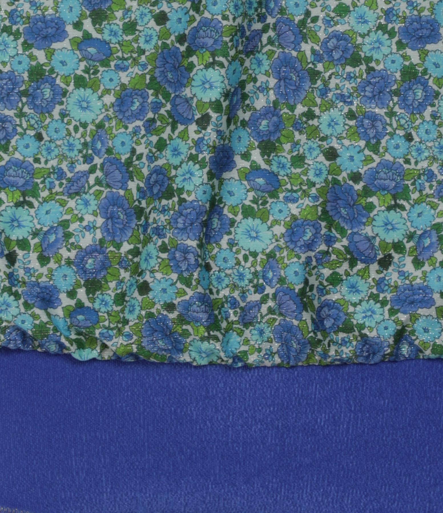 LA NOUVELLE - Maillot de Bain Caro Imprimé Liberty Bleu