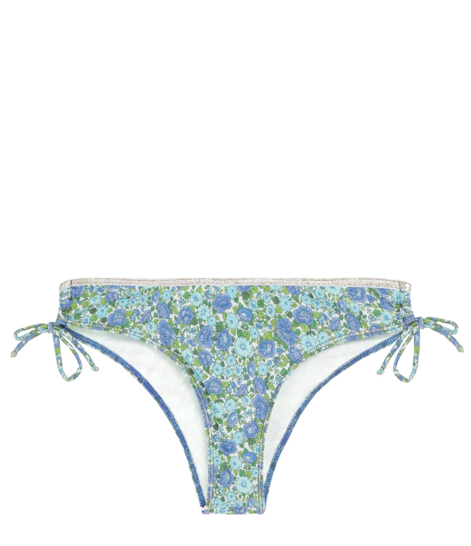 LA NOUVELLE - Culotte de Bain Eugénie Imprimé Liberty Bleu