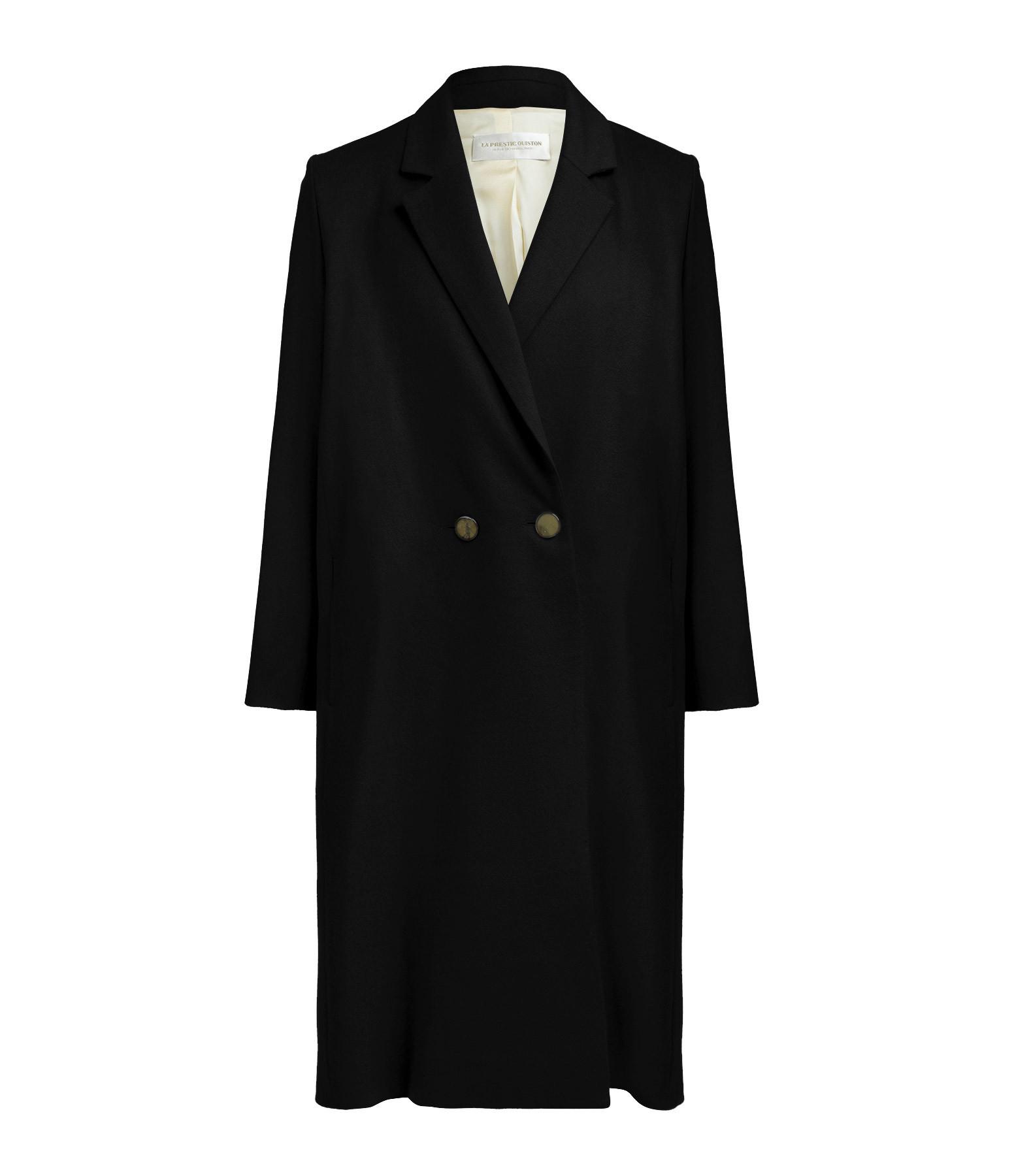 LA PRESTIC OUISTON - Manteau Charlie Noir