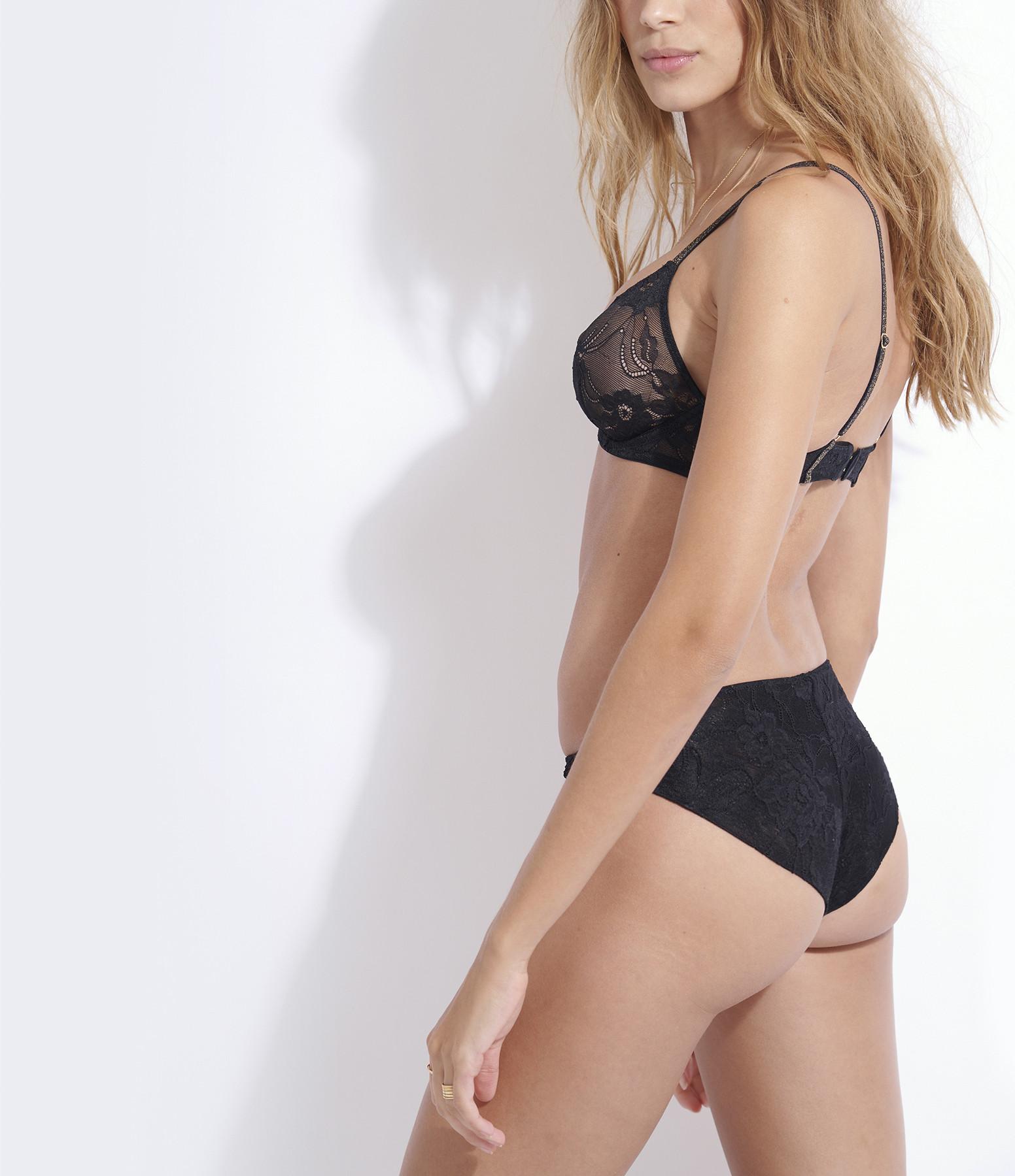 BELIZA - Culotte Lara Dentelle Noir