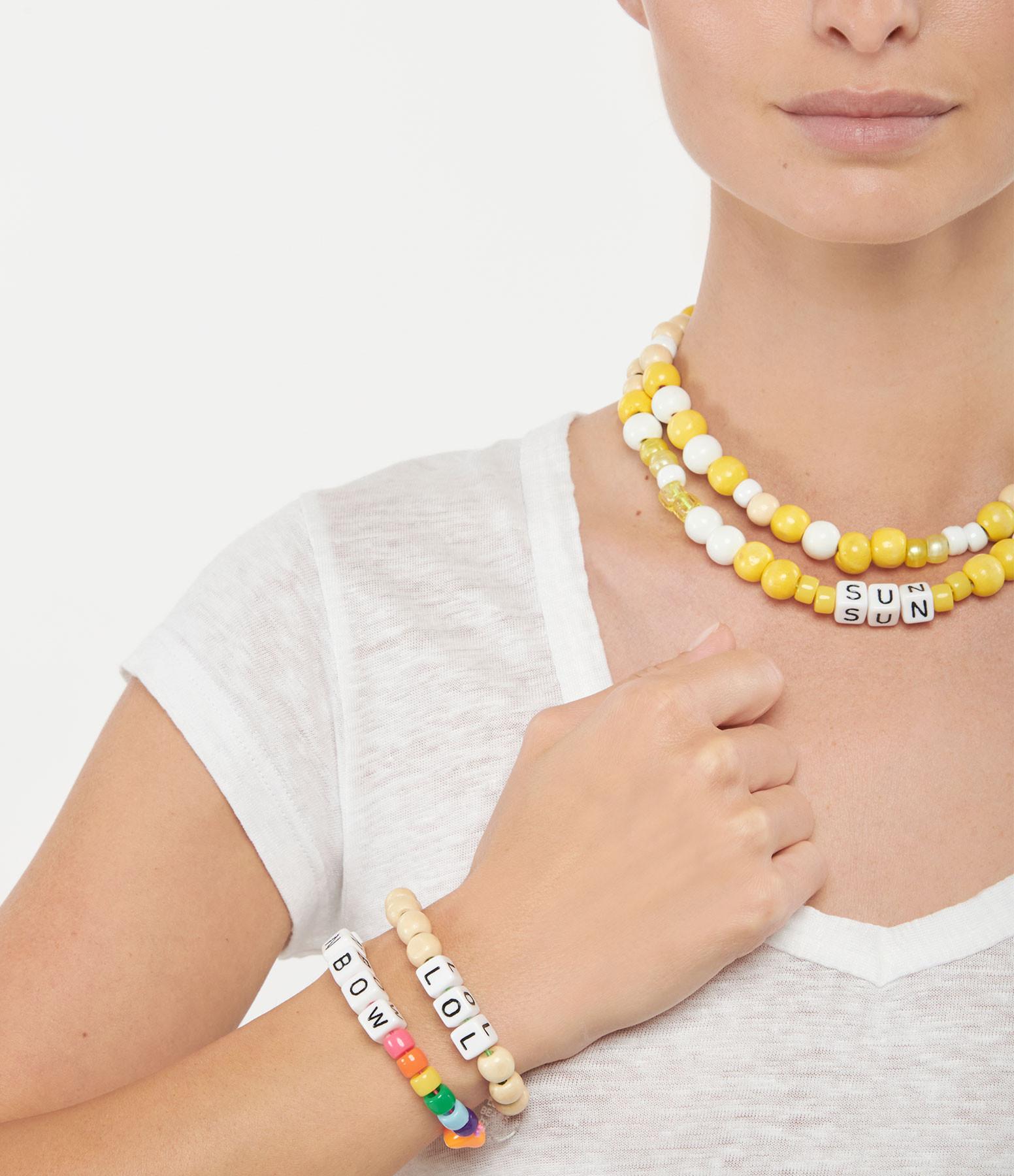 LAUREN RUBINSKI - Bracelet Love Beads Bois Plastique LOL
