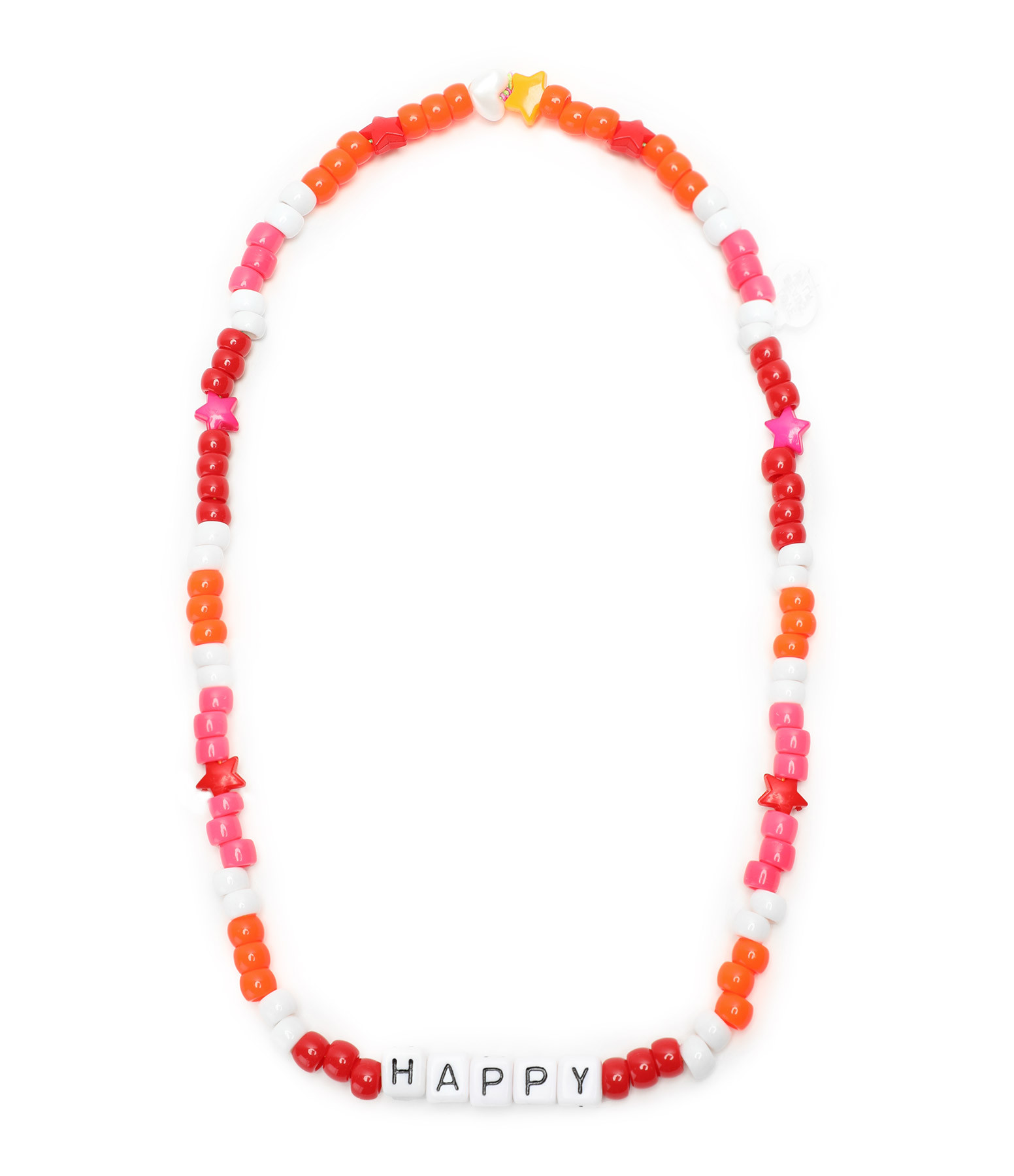 LAUREN RUBINSKI - Collier Love Beads HAPPY