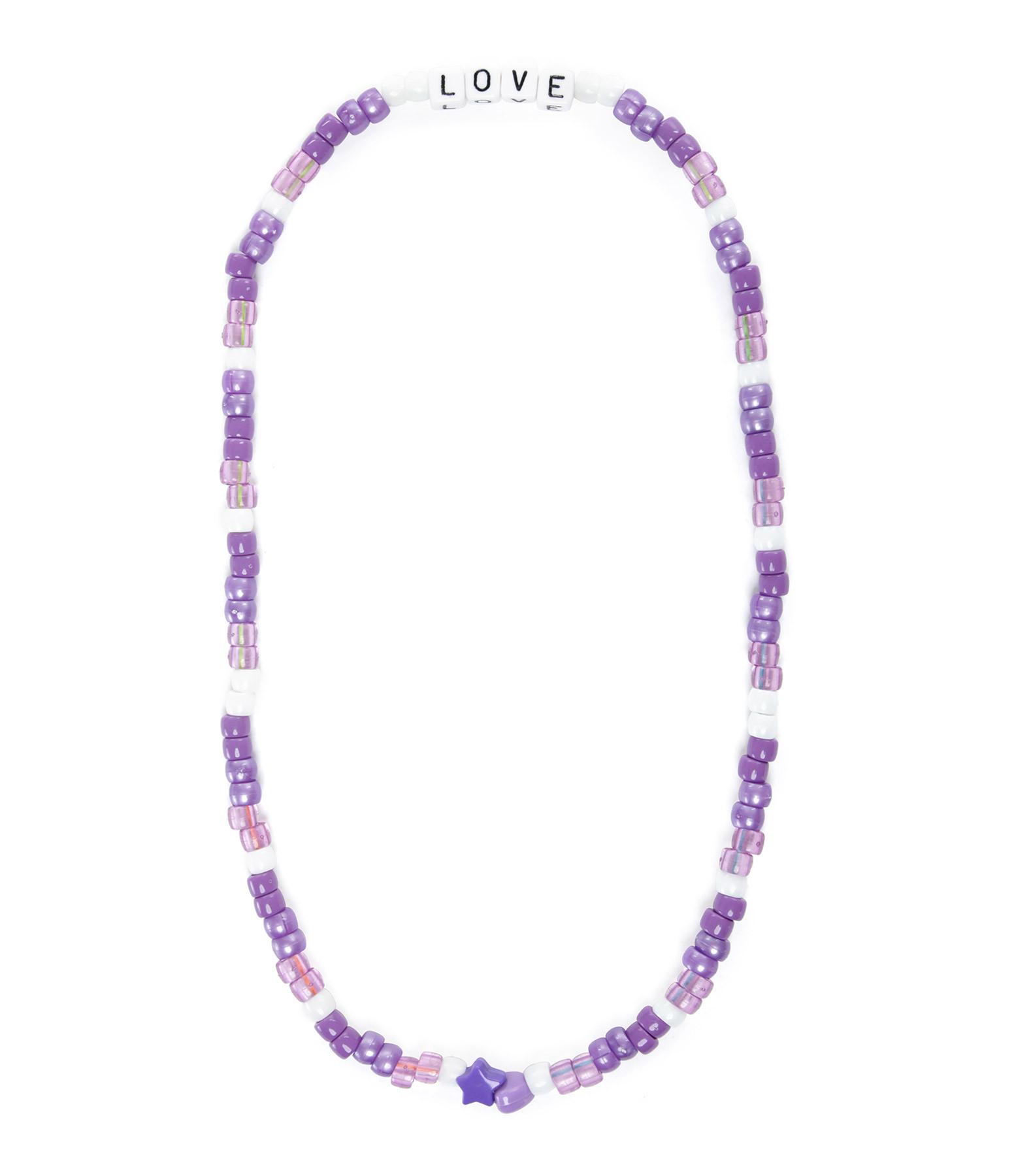 LAUREN RUBINSKI - Collier Love Beads LOVE