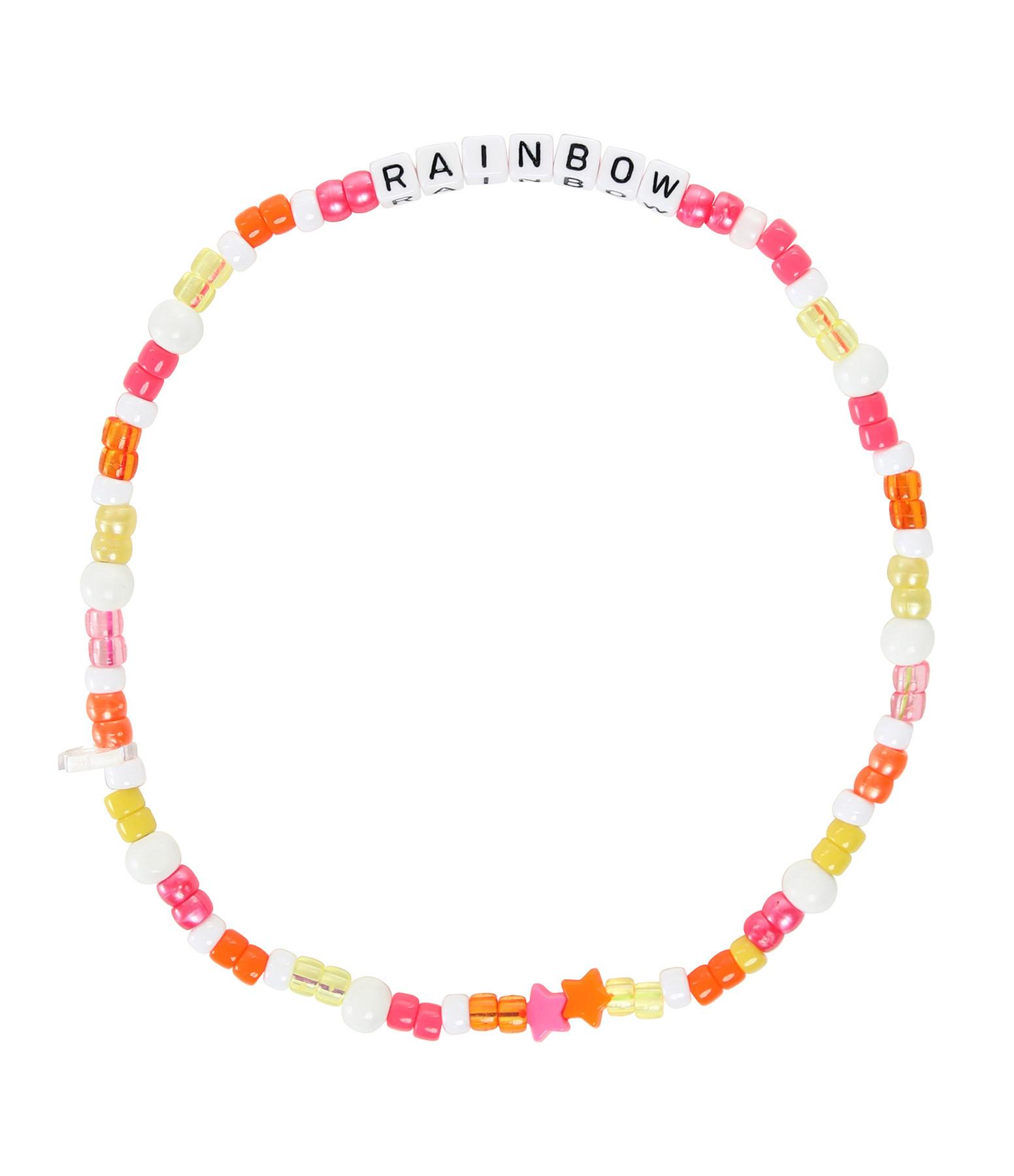 LAUREN RUBINSKI - Collier Love Beads RAINBOW