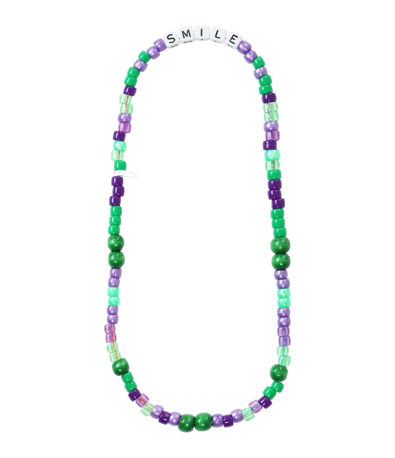LAUREN RUBINSKI - Collier Love Beads SMILE