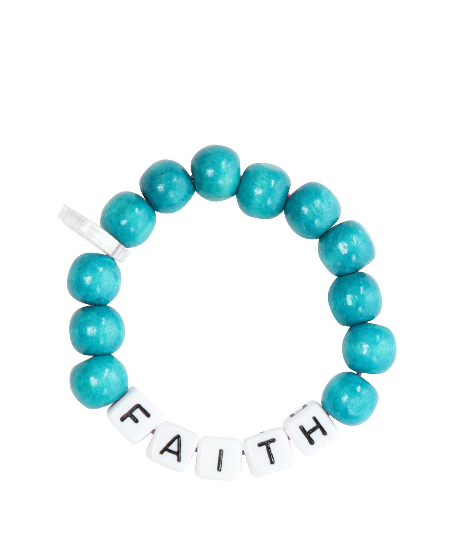 LAUREN RUBINSKI - Bracelet Love Beads Bois Plastique FAITH
