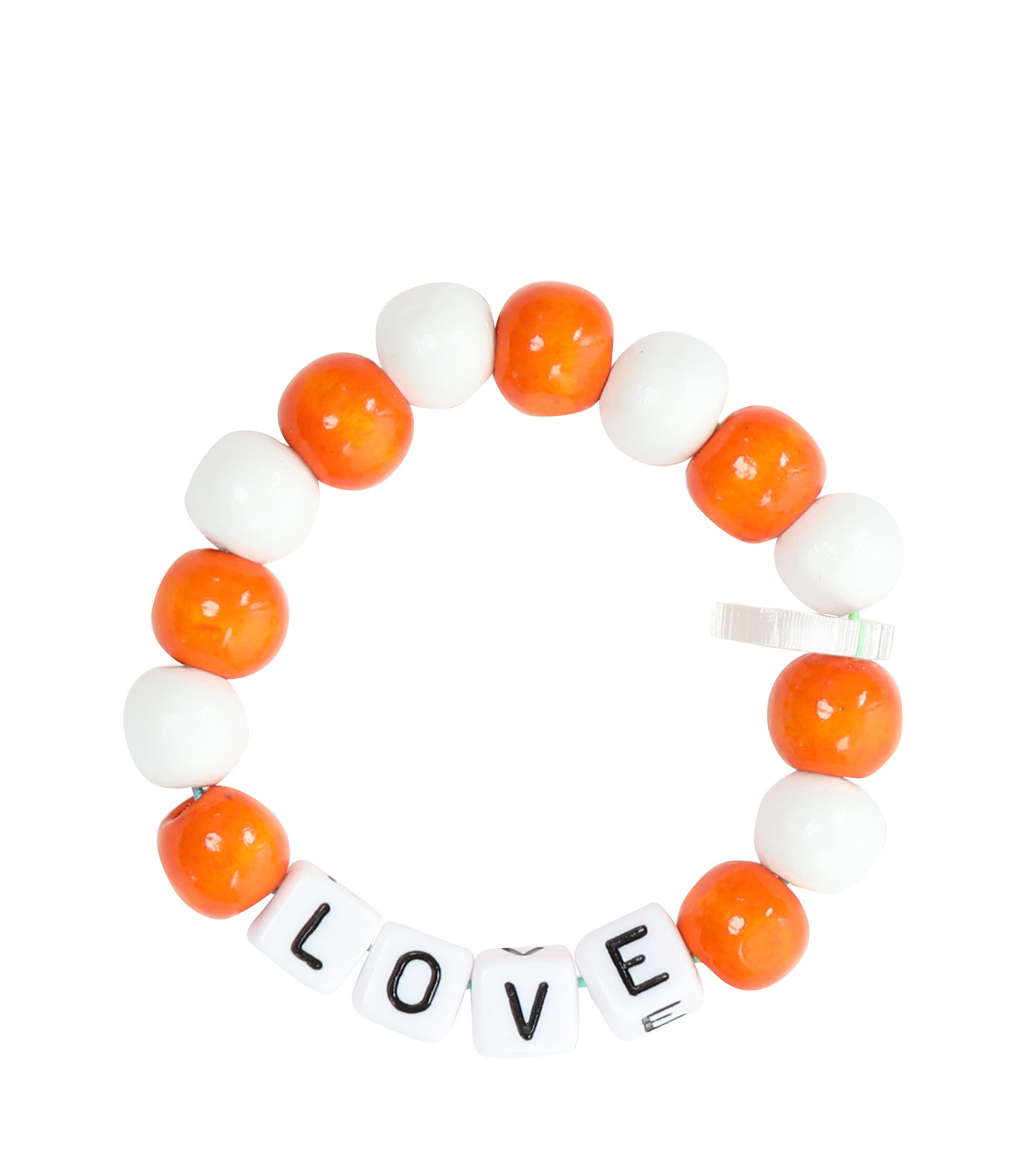 LAUREN RUBINSKI - Bracelet Love Beads Bois Plastique LOVE