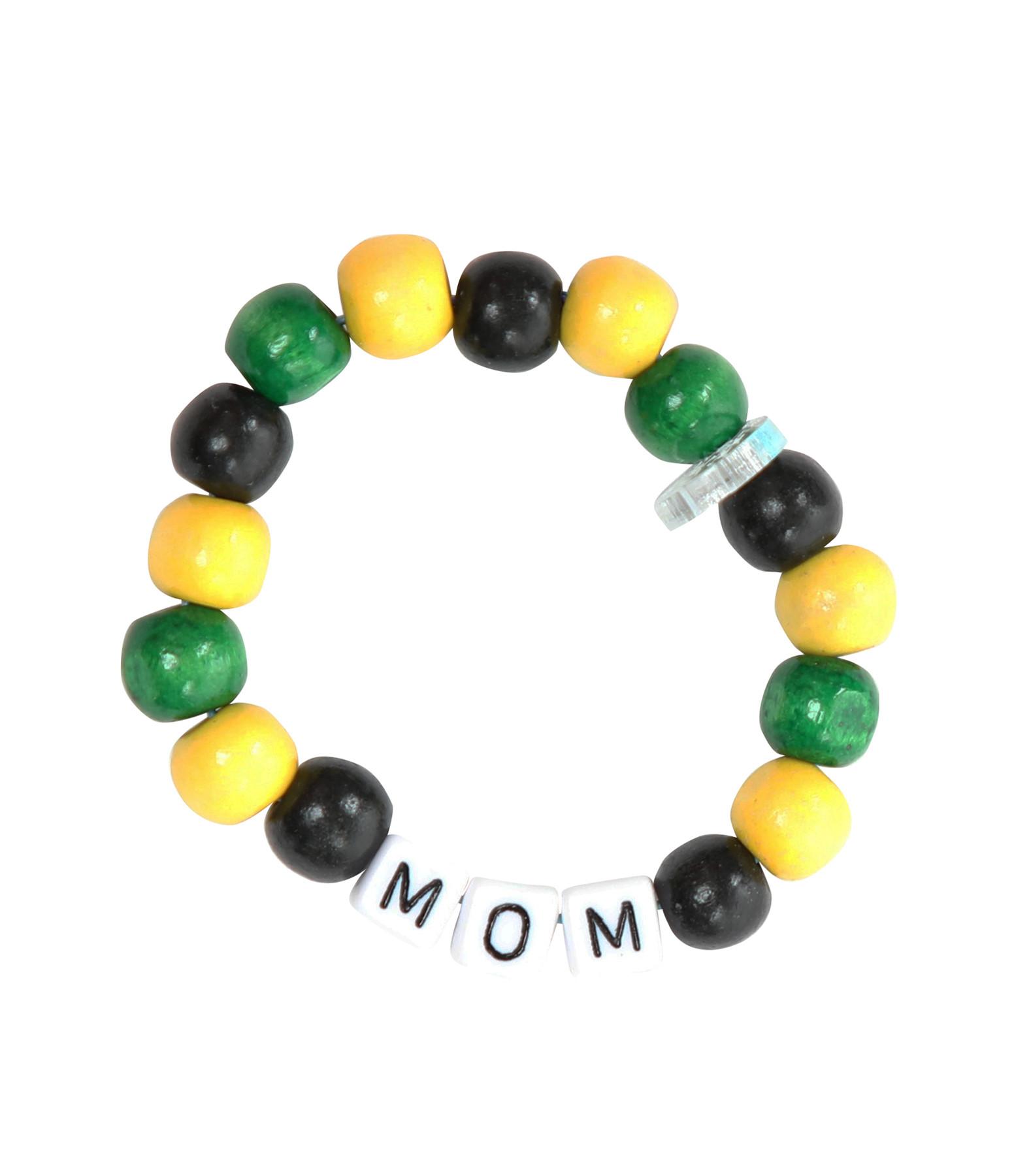 LAUREN RUBINSKI - Bracelet Love Beads Bois Plastique MOM