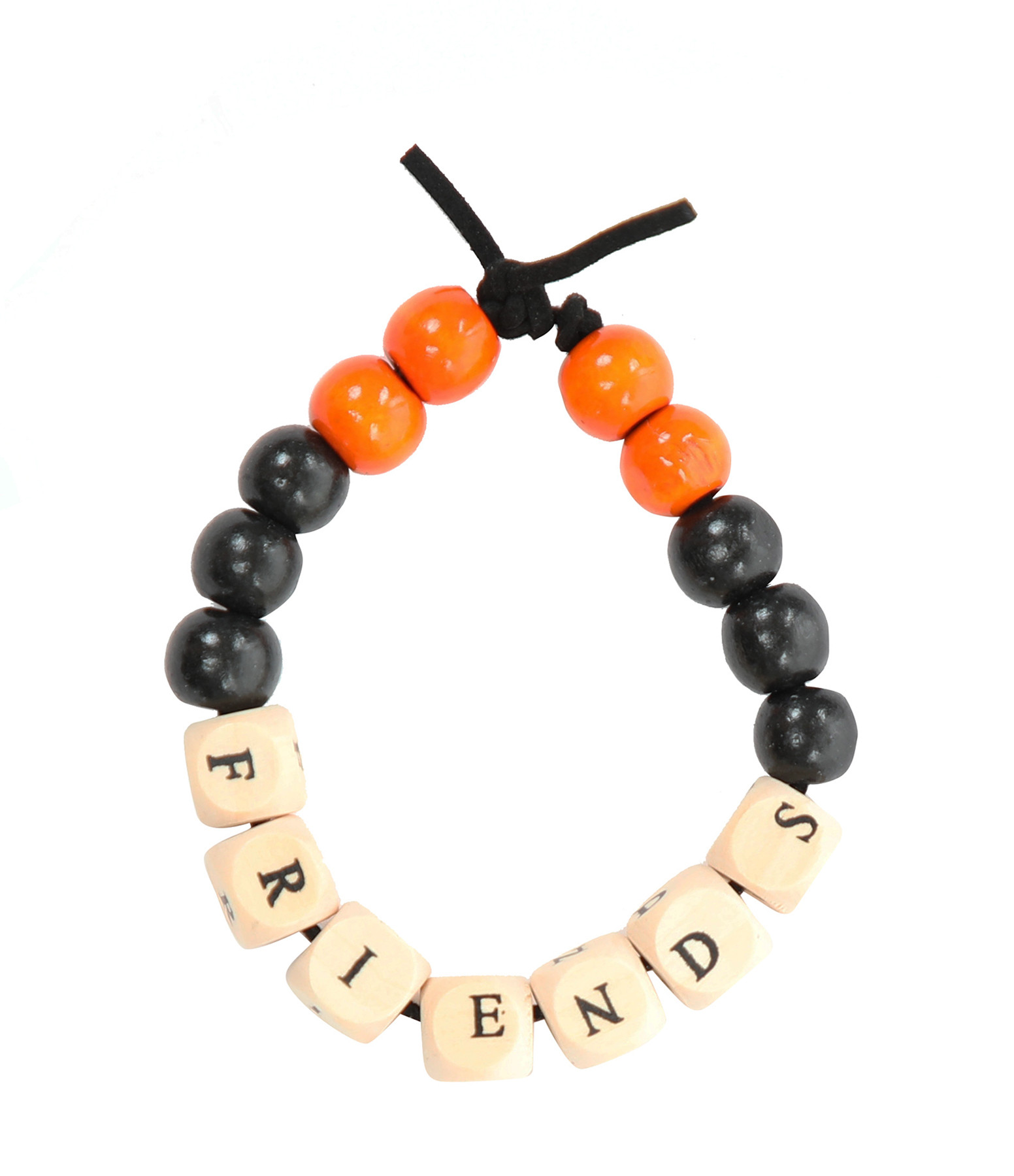 LAUREN RUBINSKI - Bracelet Love Beads Bois FRIEND